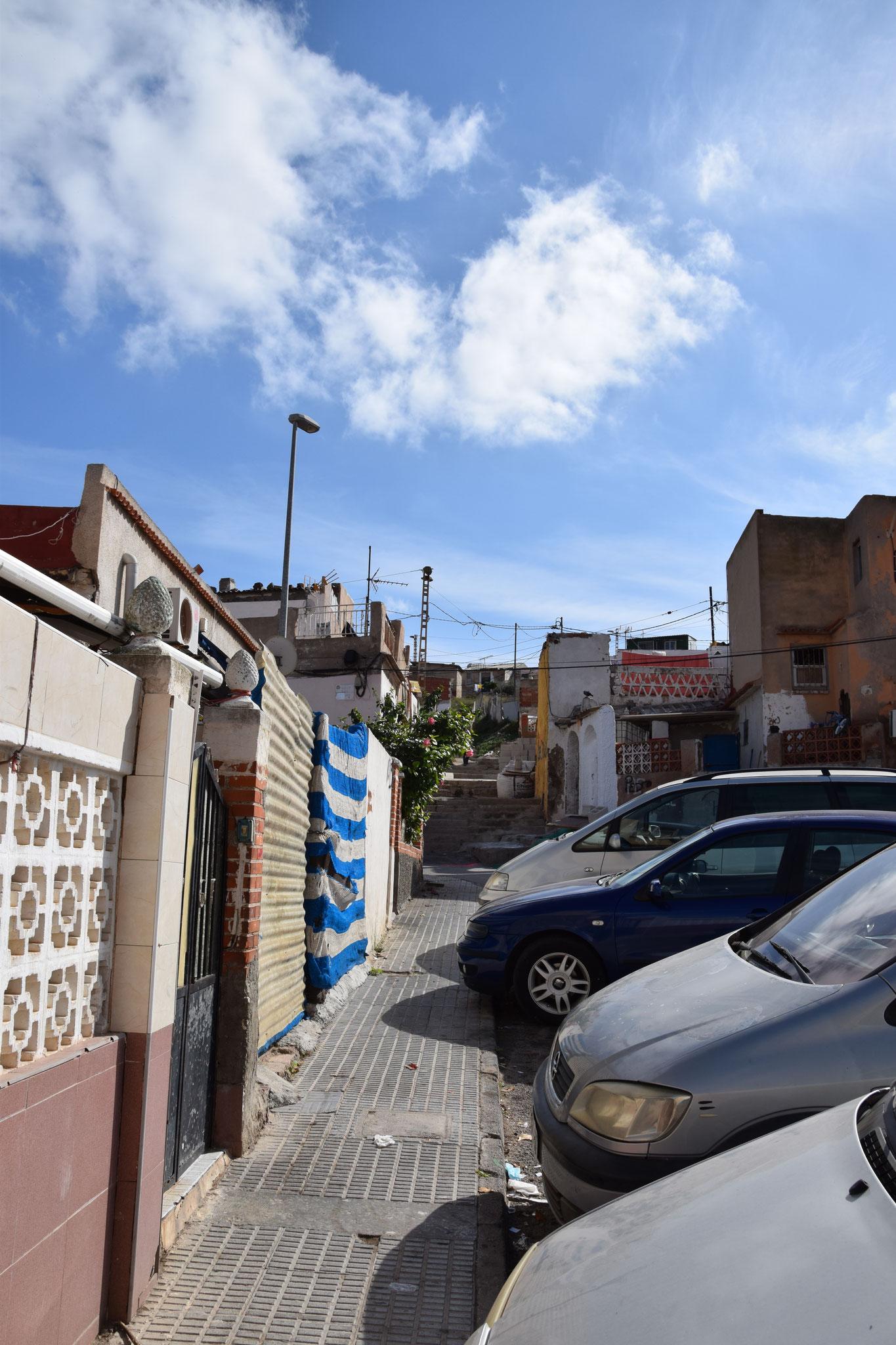 Los Mateos - ein Ort, eine andere Welt nur ein paar Gehminuten von Cartagena entfernt