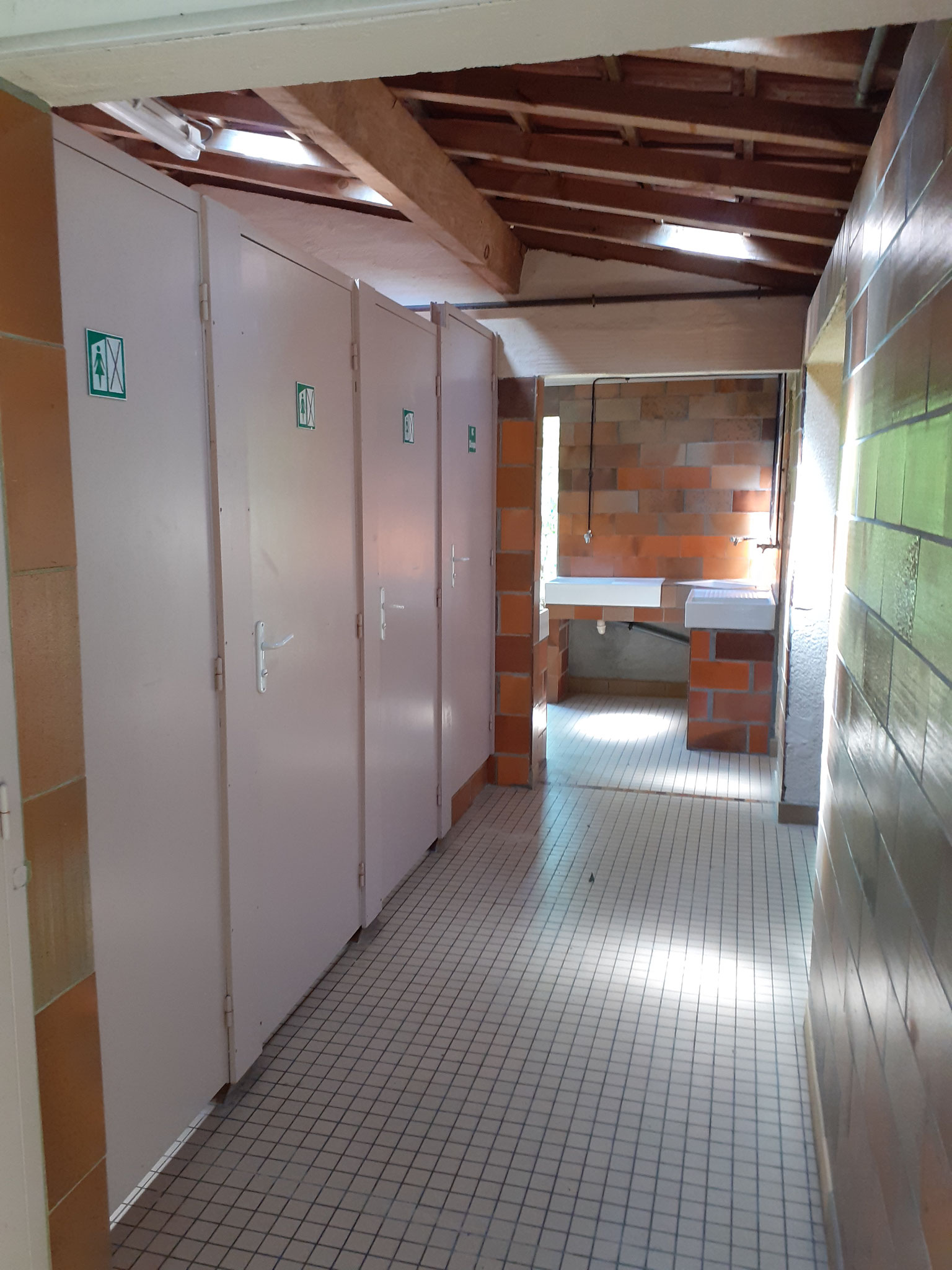 WC-Korridor