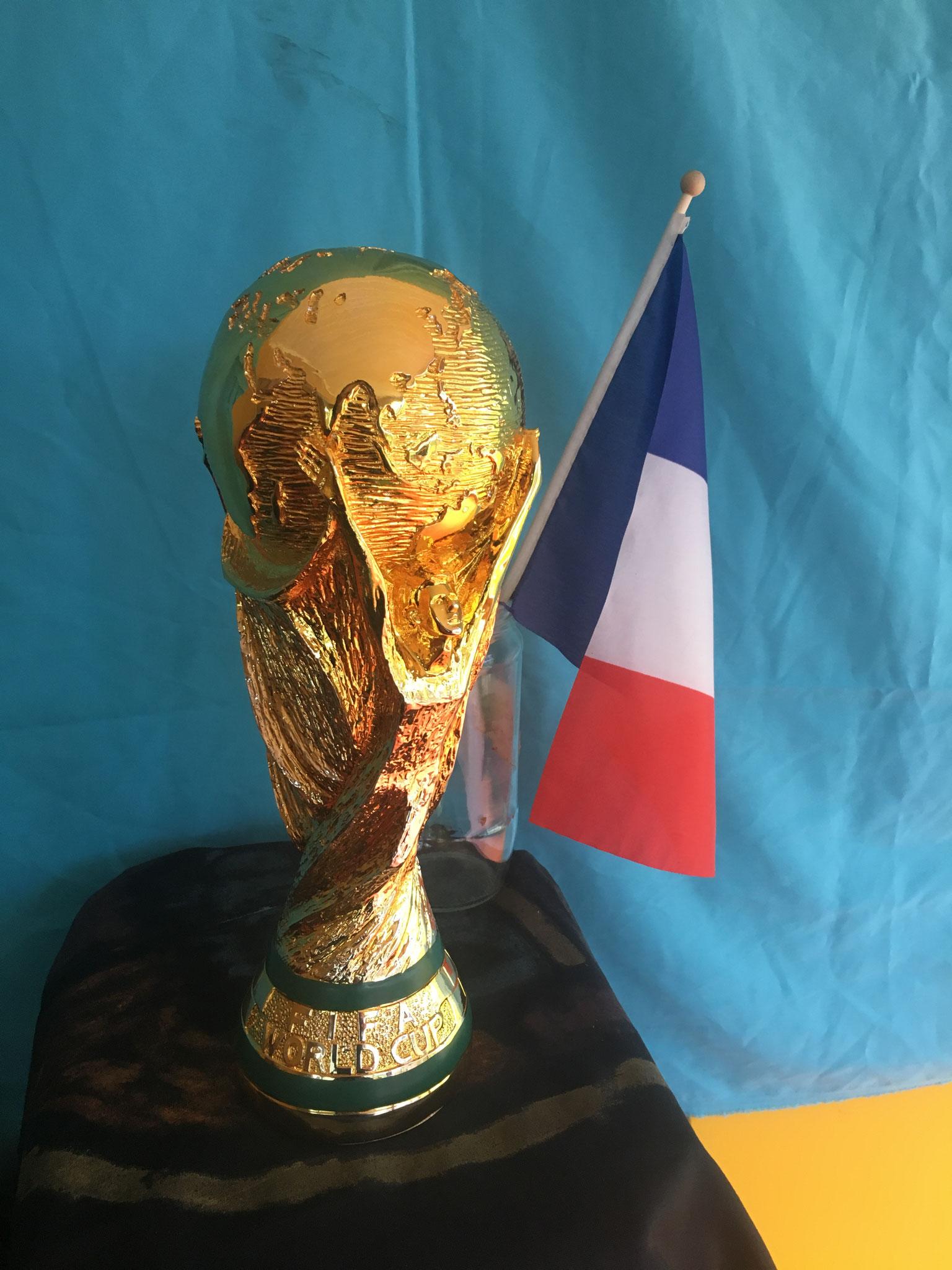 et le trophée s'est fait beau !