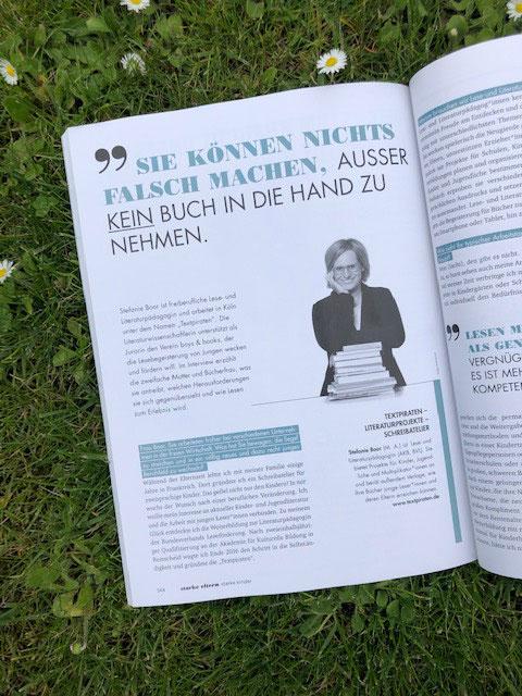 Im Interview: Stefanie Boor