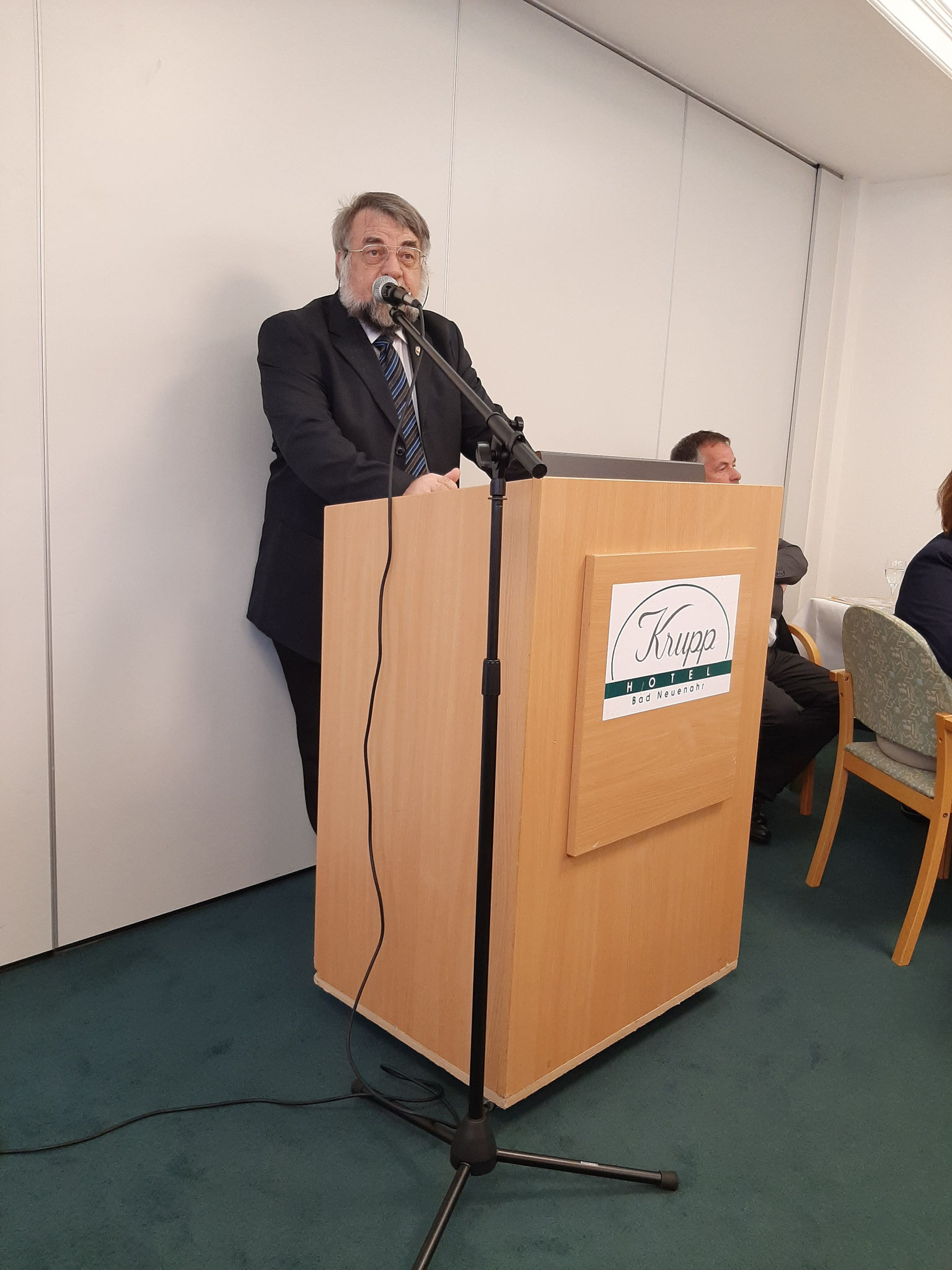 Grußwort von Dieter Wilking von der Interessengemeinschaft Dialysepatienten Rhein-Neckar e.V