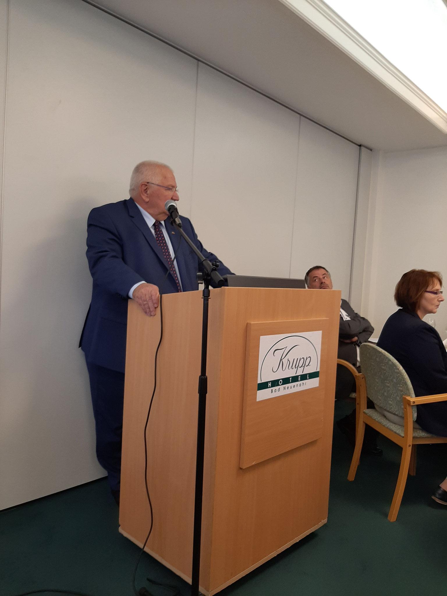 Grußwort von Peter Gilmer, Vorsitzender des Bundesverbandes Niere
