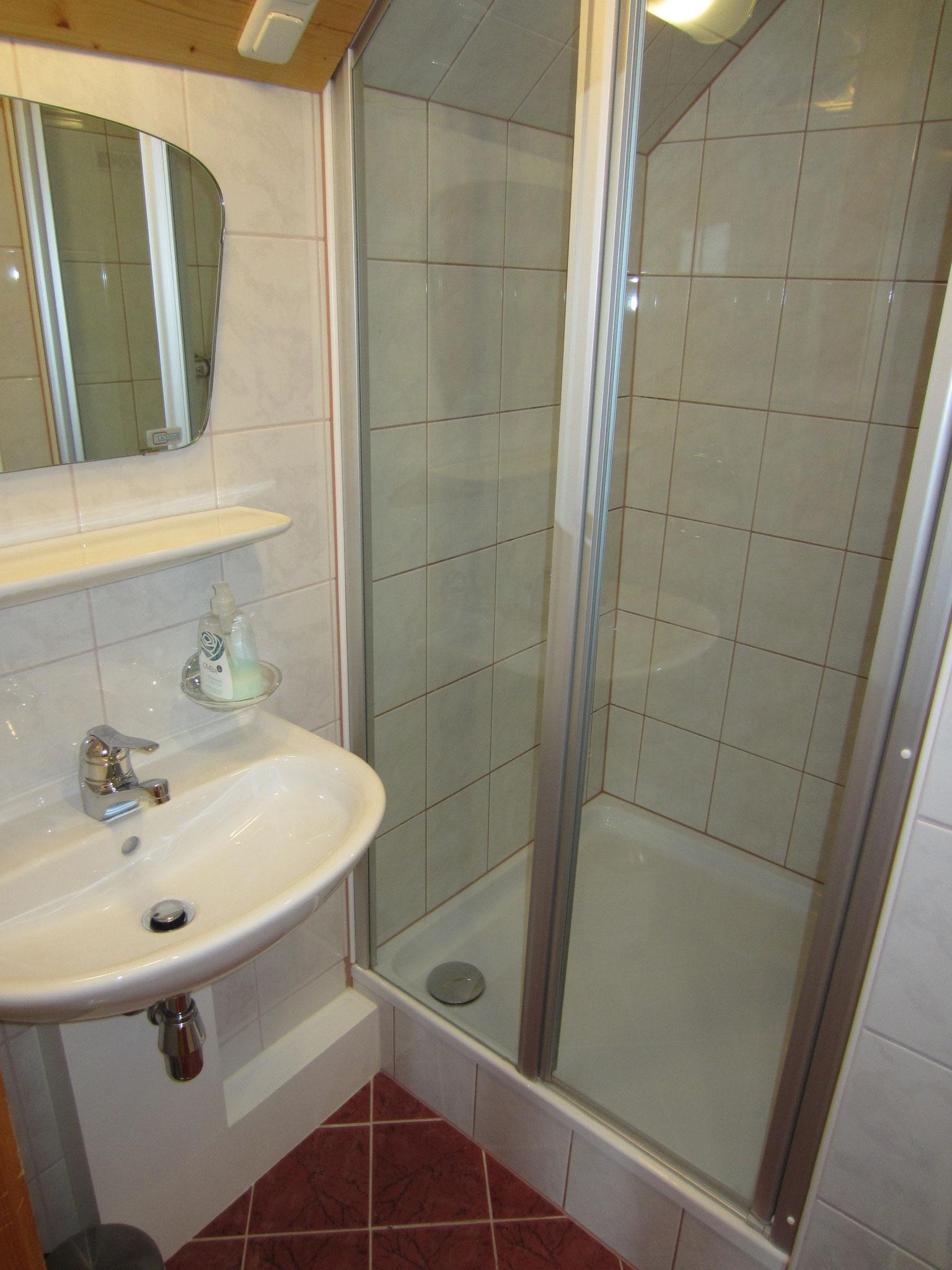 Bad/WC zum Schlafzimmer Fichte