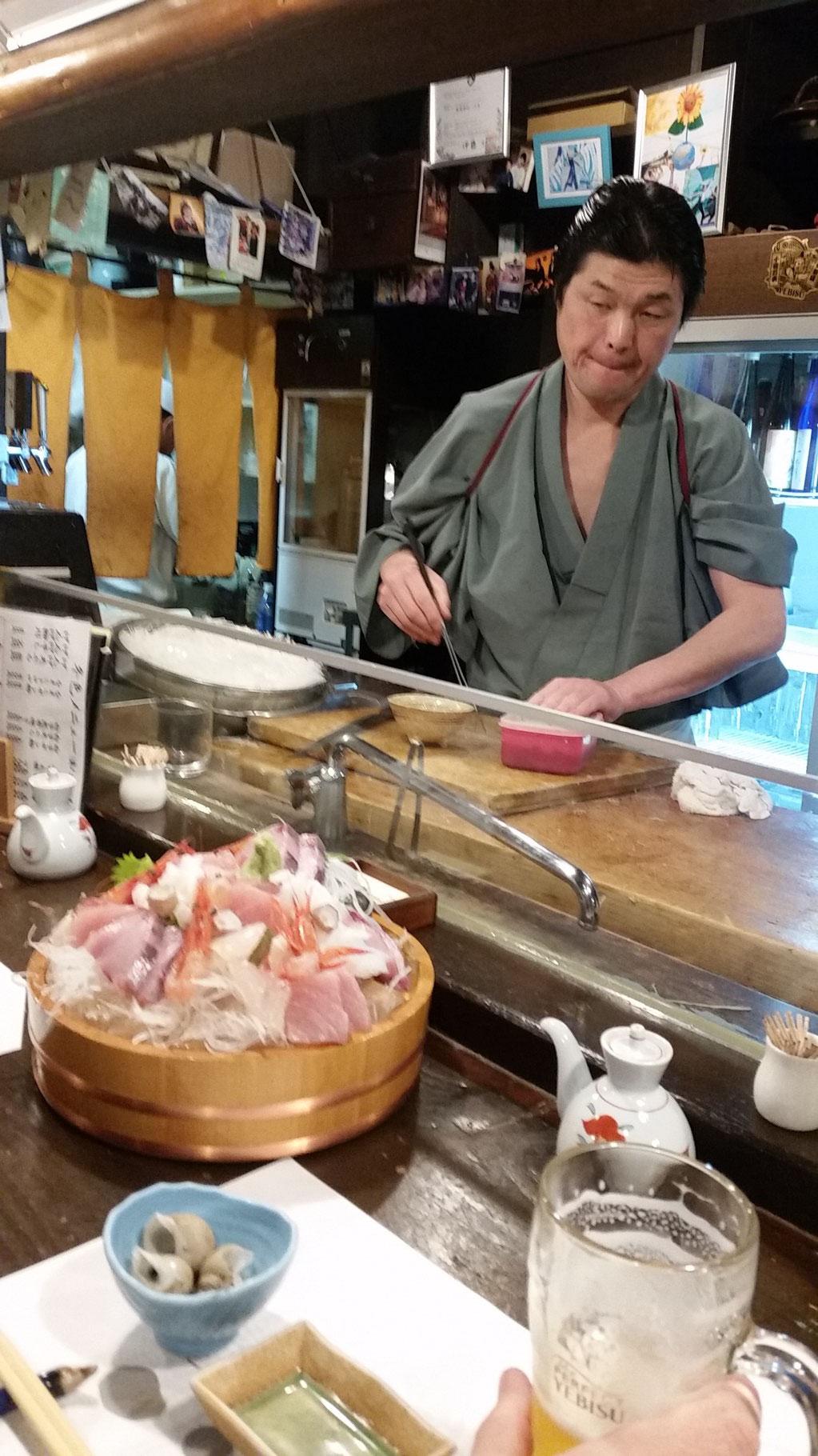 Merveilleux Izakaya à Kanazawa