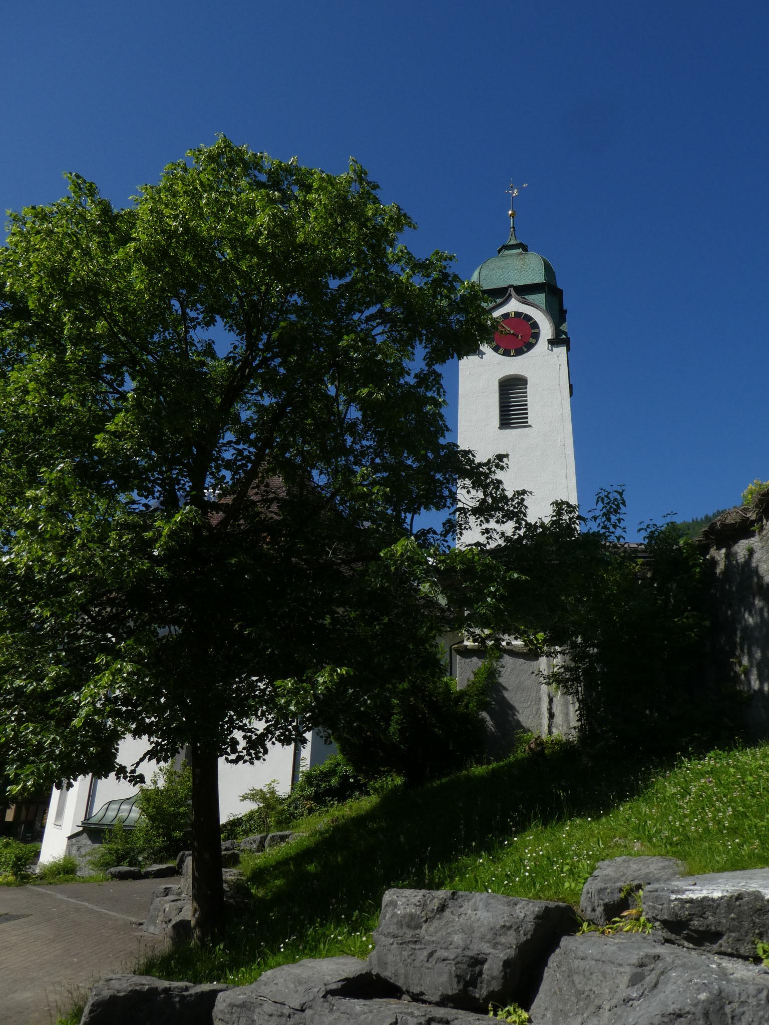 2 Kirchturm von Norden