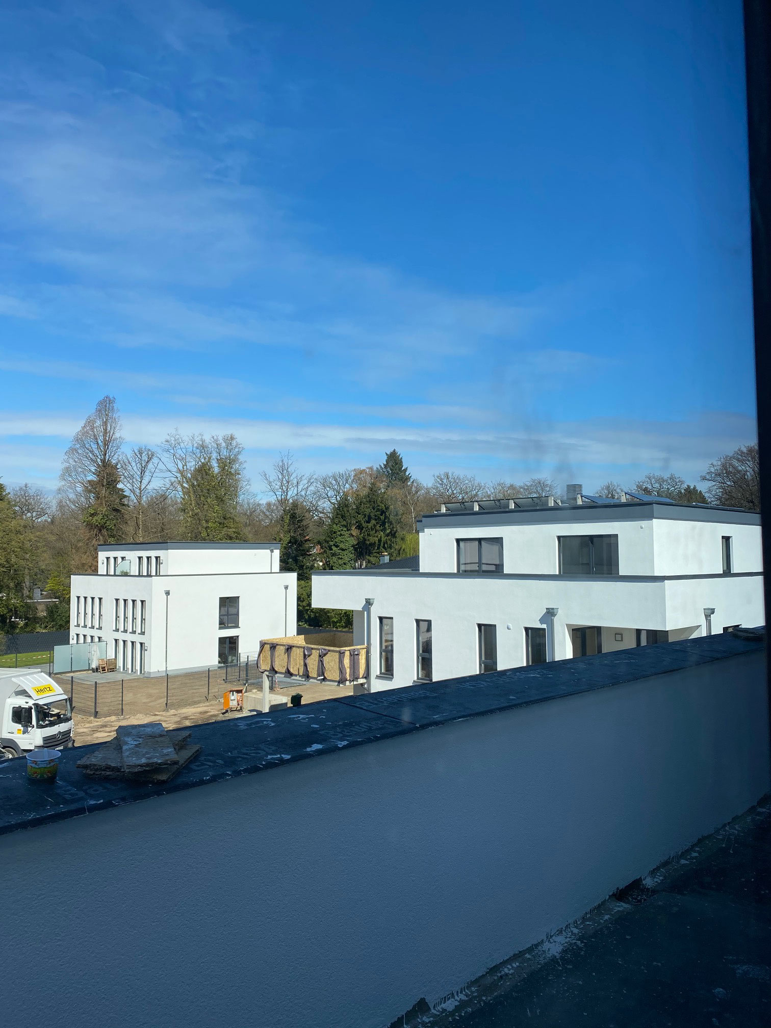 Blick vom Penthouse des Hauses 4