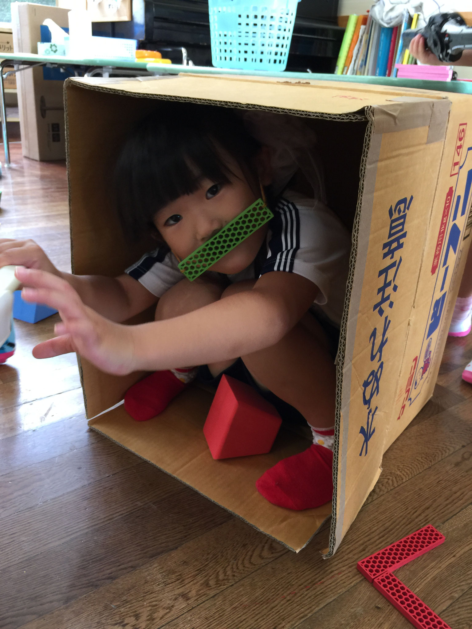 ねずこは箱に入ってるんです!!