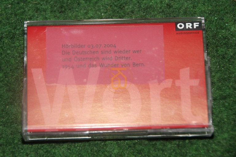 Kassette vom ORF über das Wunder von Bern