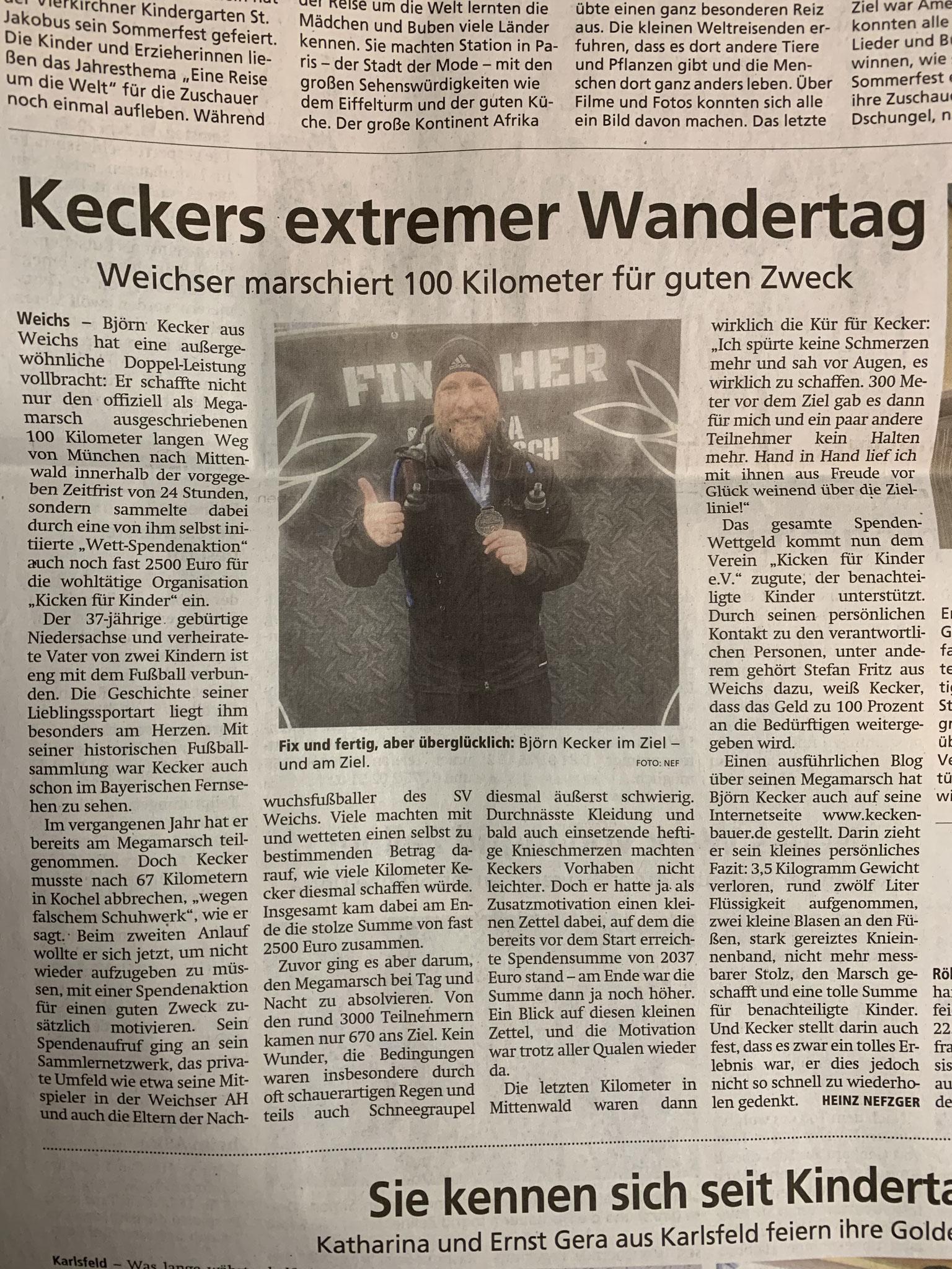 Dachauer Nachrichten / Münchener Merkur vom 13.06.2019