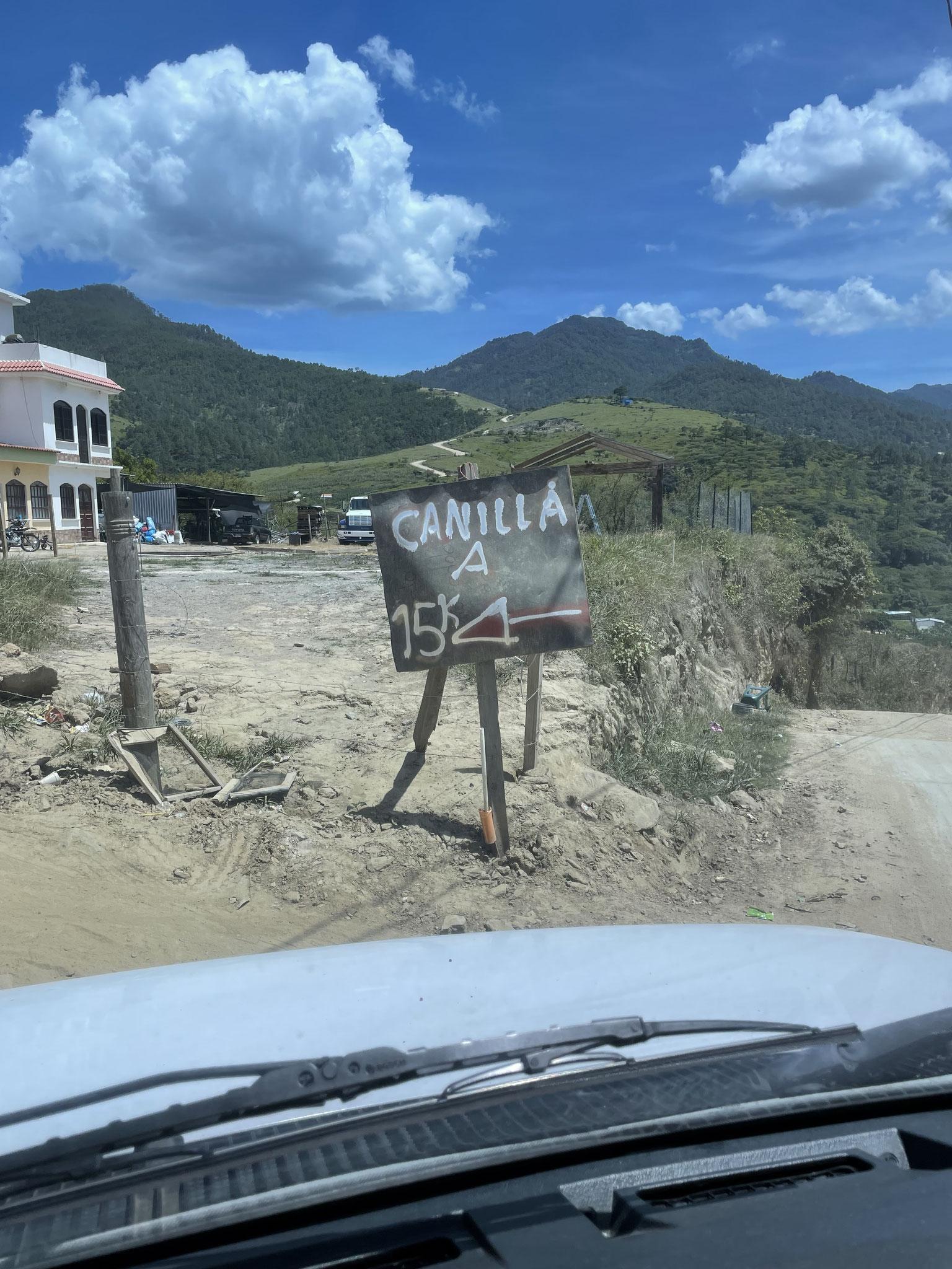lol sign to Canilla, Quiche