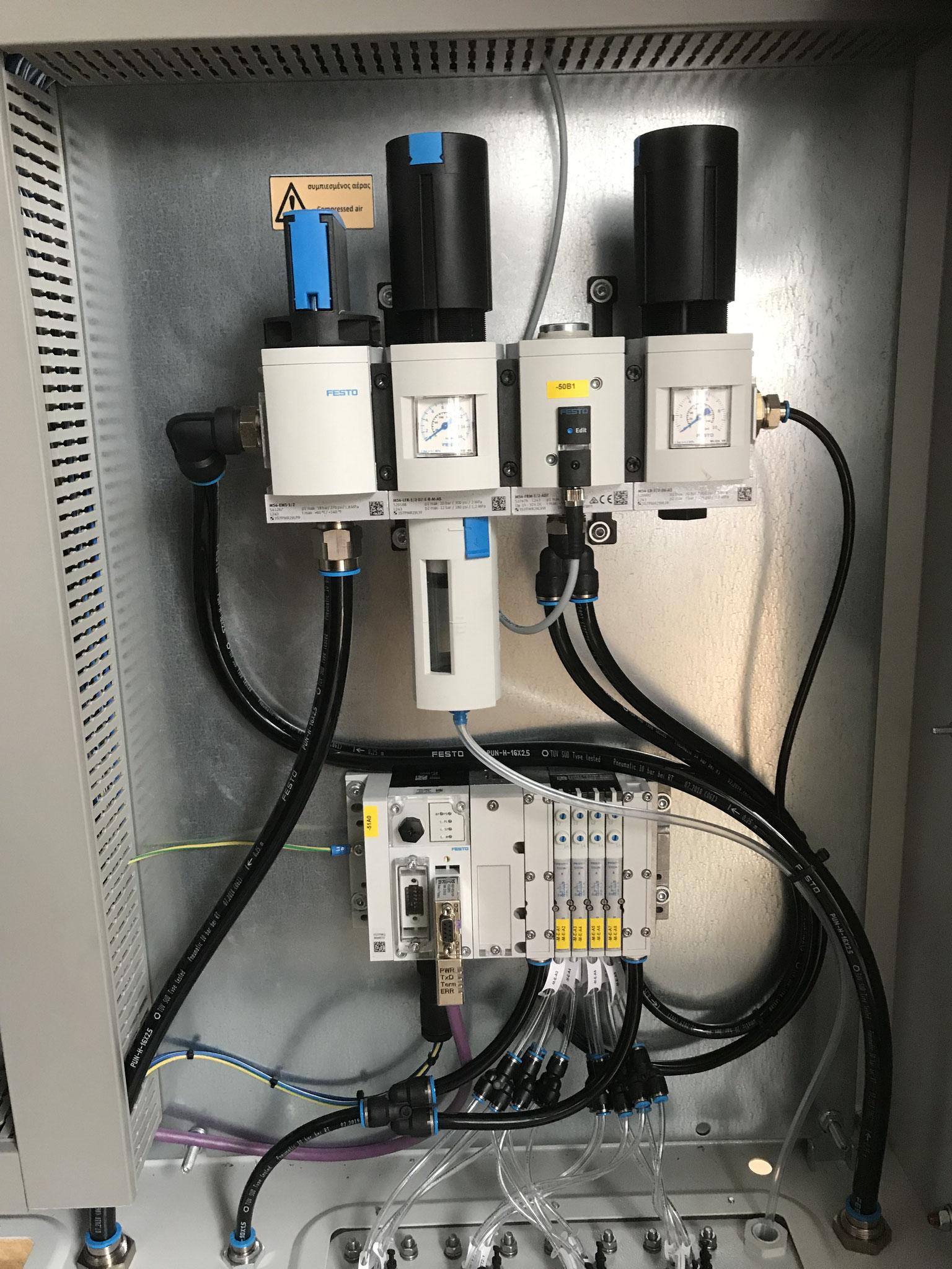 Pneumatikbereich Hybridschrank
