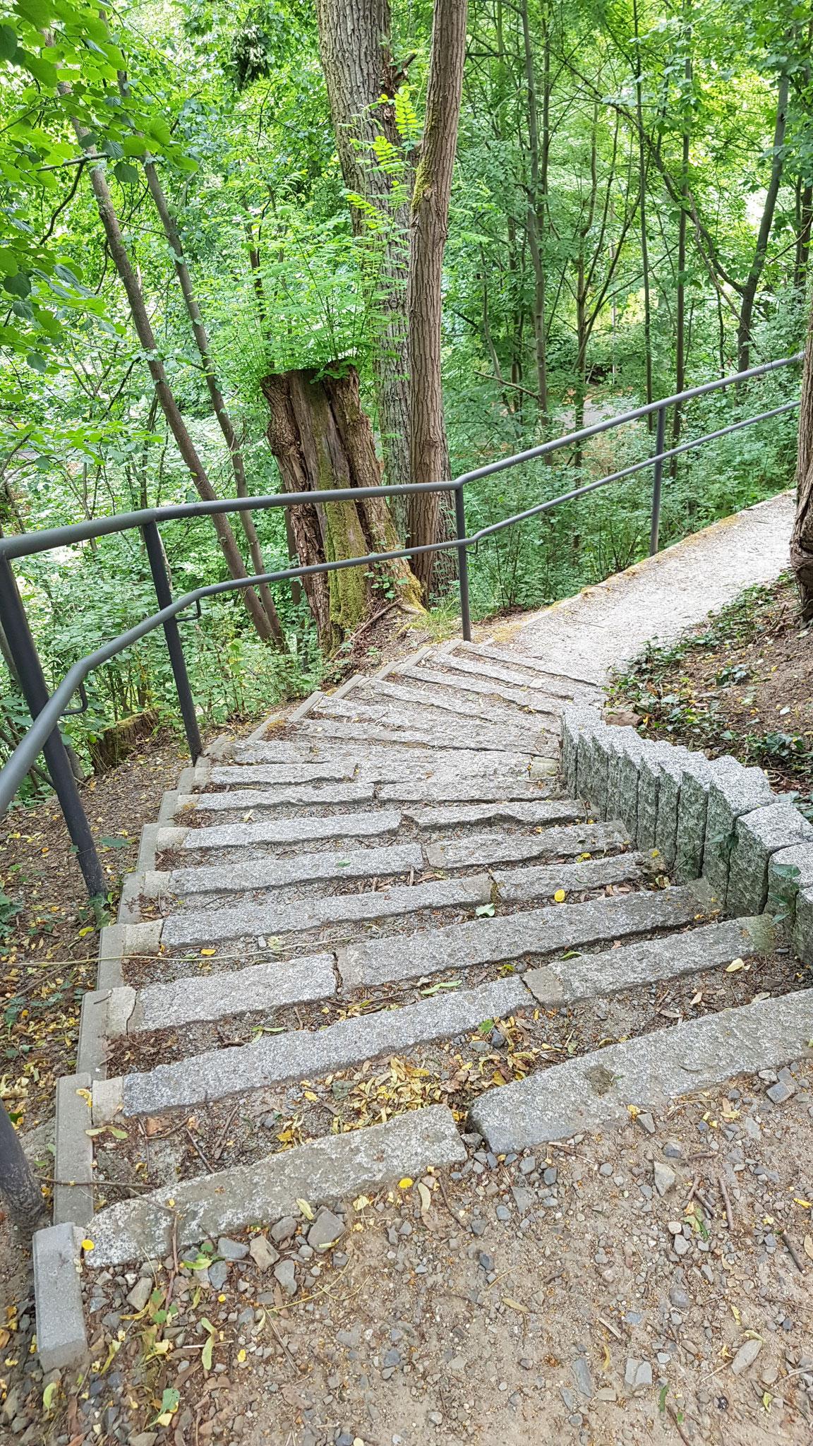 Treppe zum Kaiser- Friedrich Turm