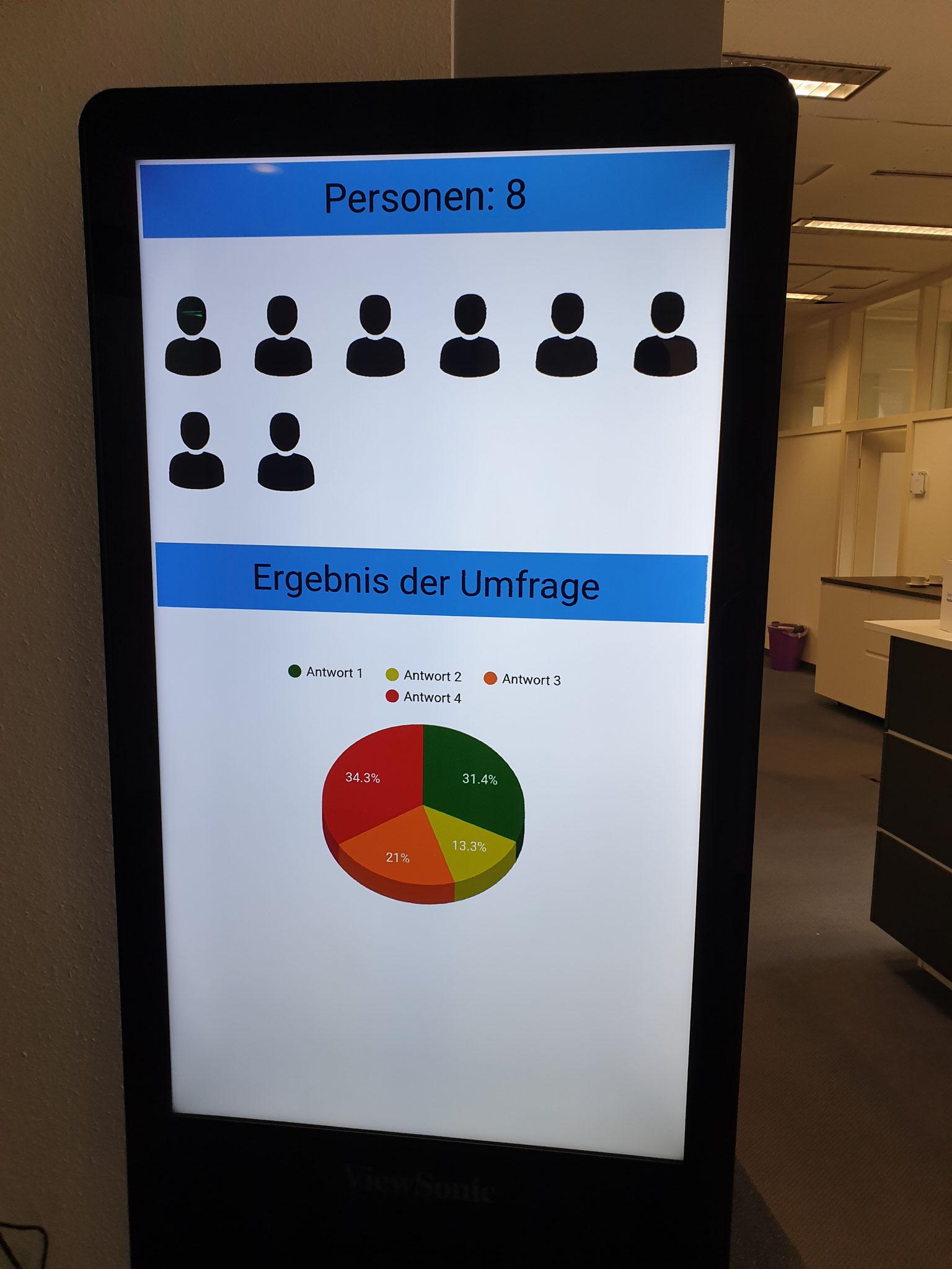 Kunde: DZ Ulm - IoT Personenzähler / LoraWAN Umfrageterminals