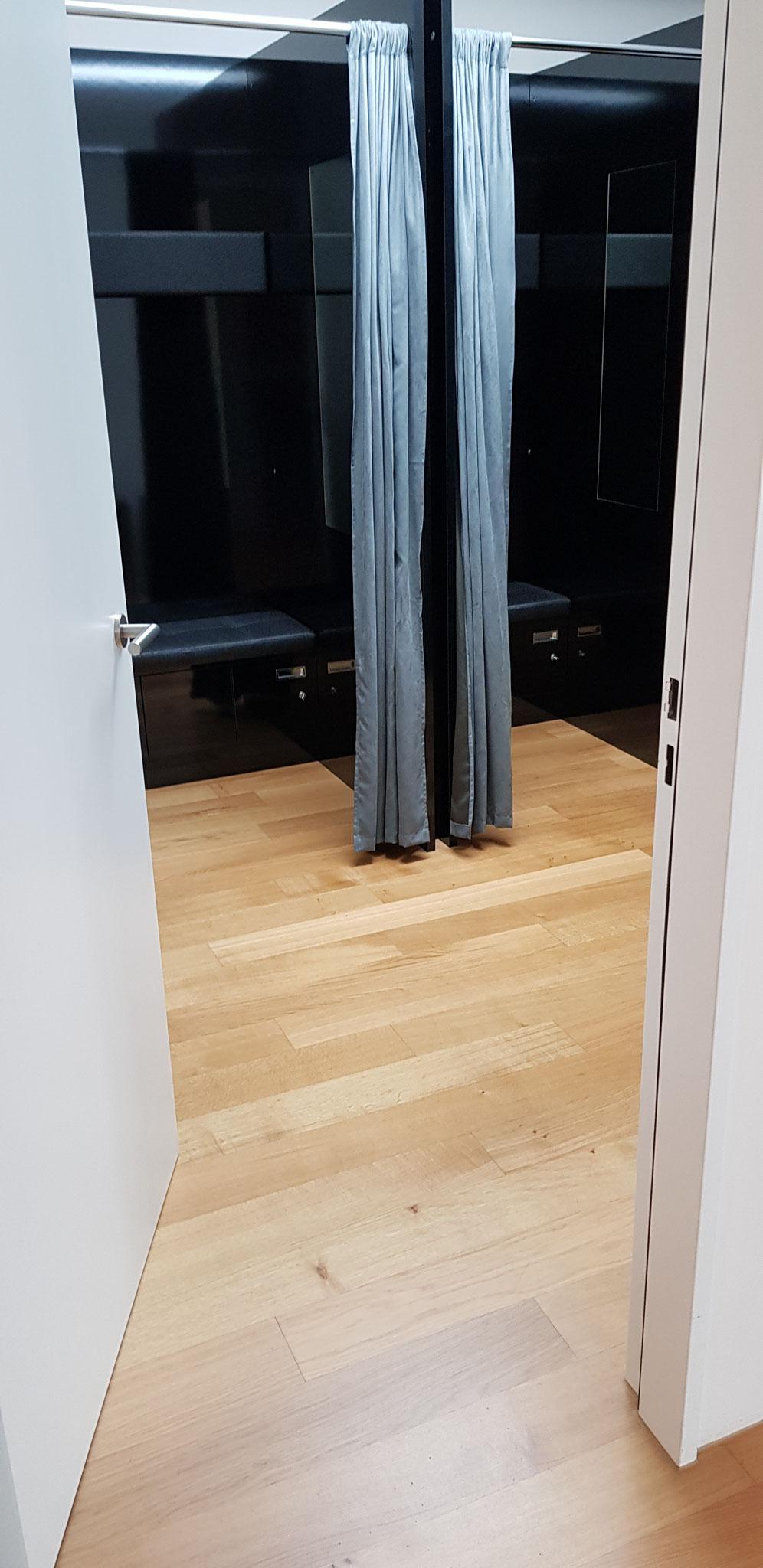 Garderobe / Kabinen