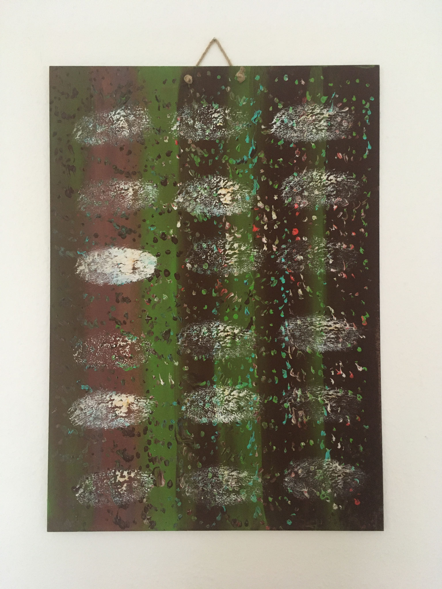 Holzweg & Schritte (70x50cm)