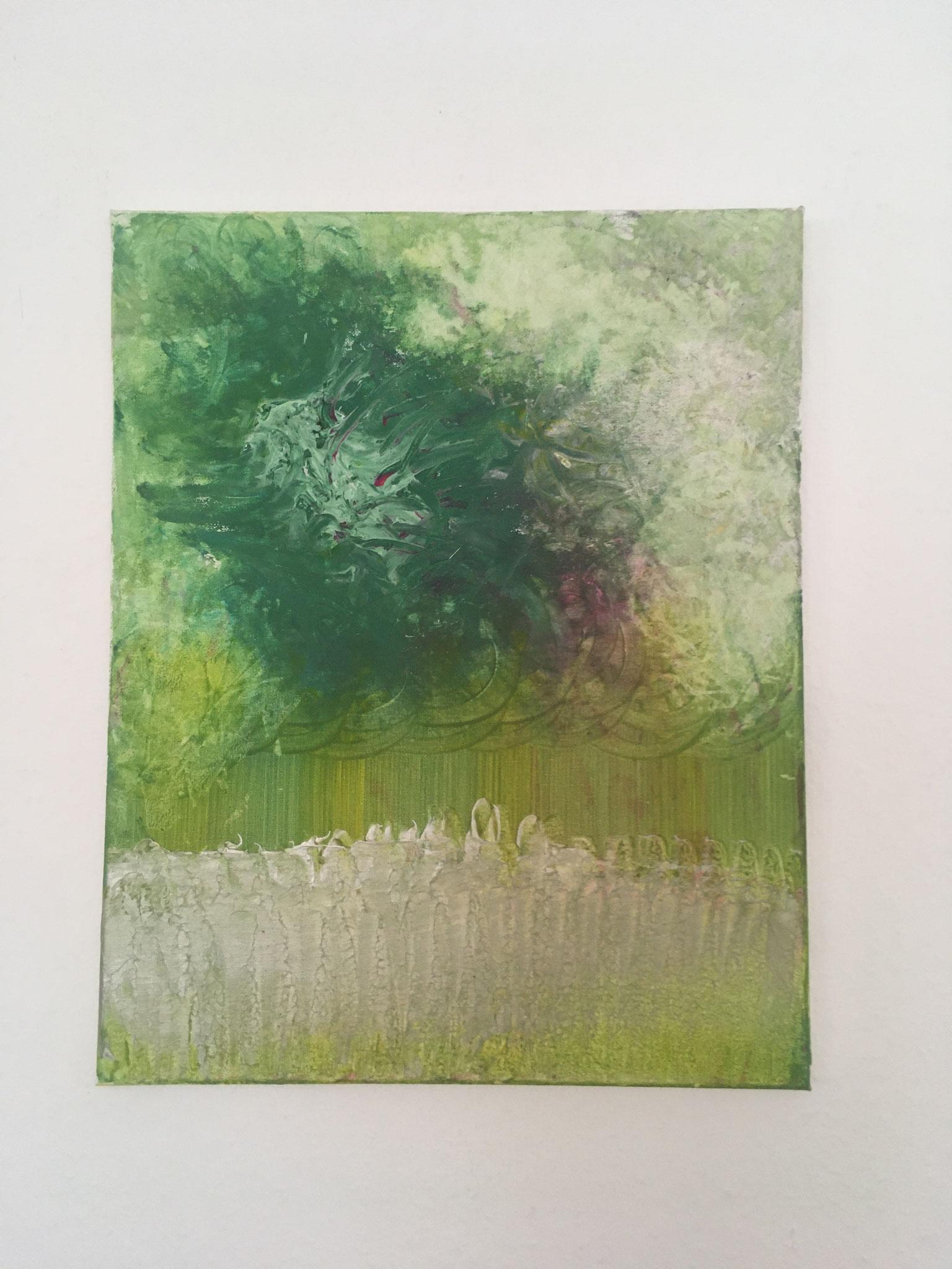 Gartenansicht (50x40cm)