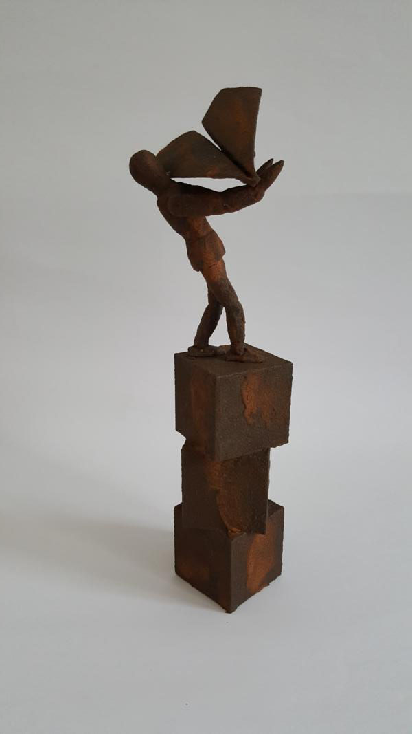 Rusty dreams, 2018, 29 x 8 x 8 cm, Object