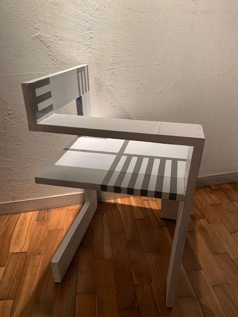 GT- Chair ~リートフェルトへのオマージュ~