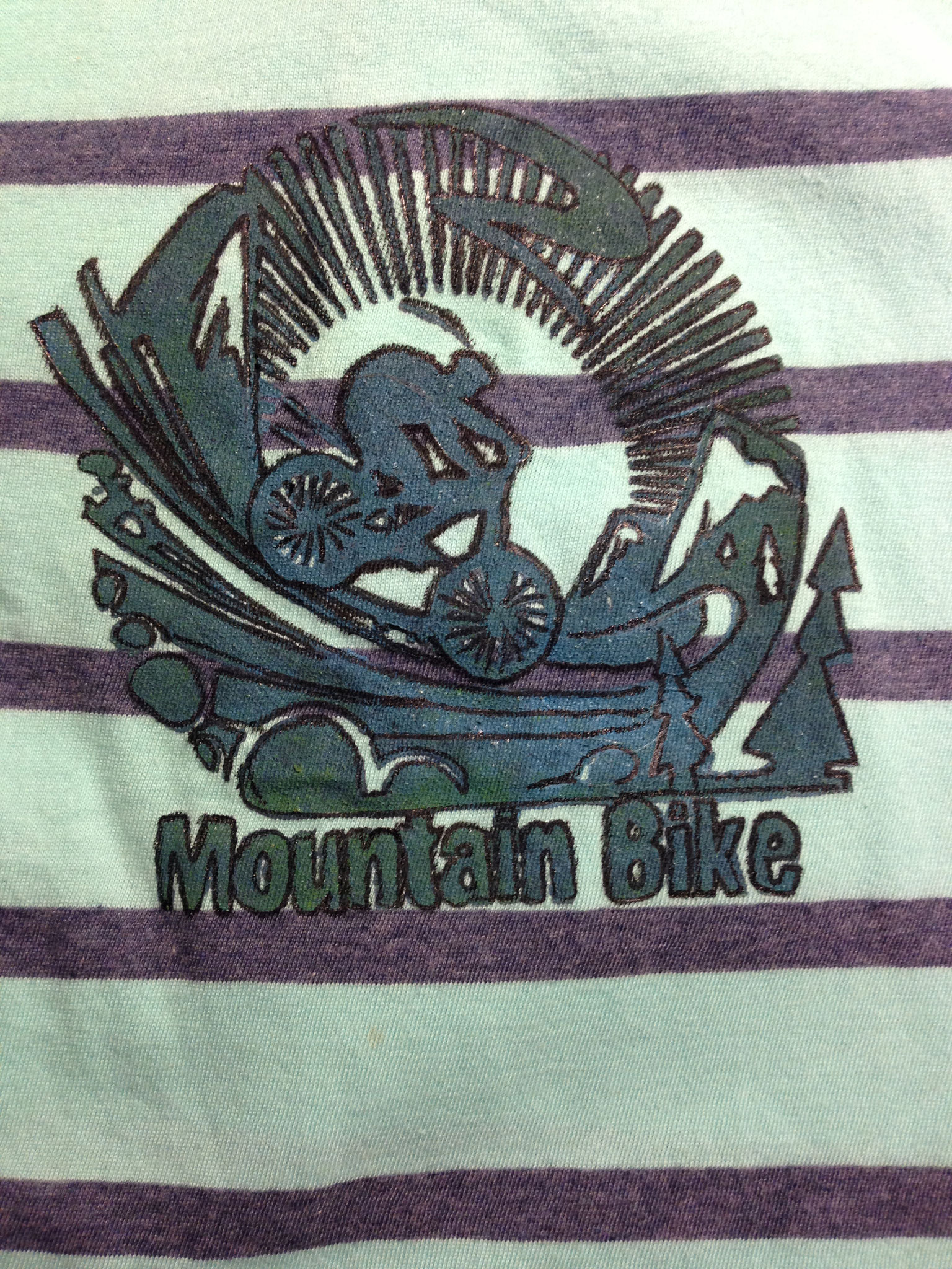 bedrucktes Kinder-Shirt