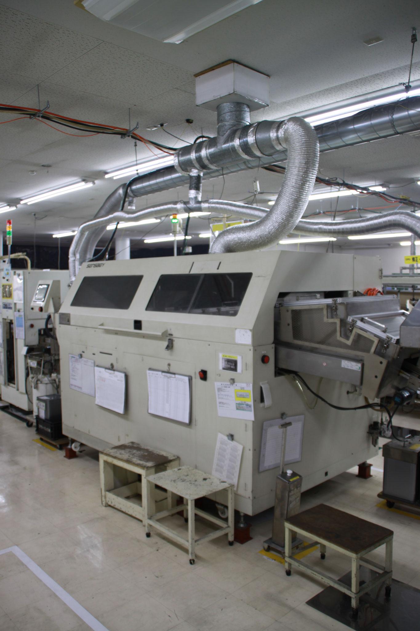 窒素封入式半田付け装置  日本電熱制 ILF-350CS(Pbフリー)