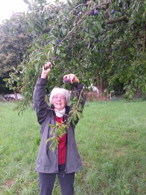 Birgit ist ganz begeistert. Foto: Desiree Dreyer