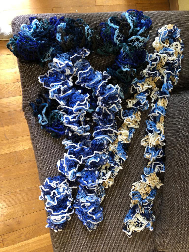 Dekorativer Schal