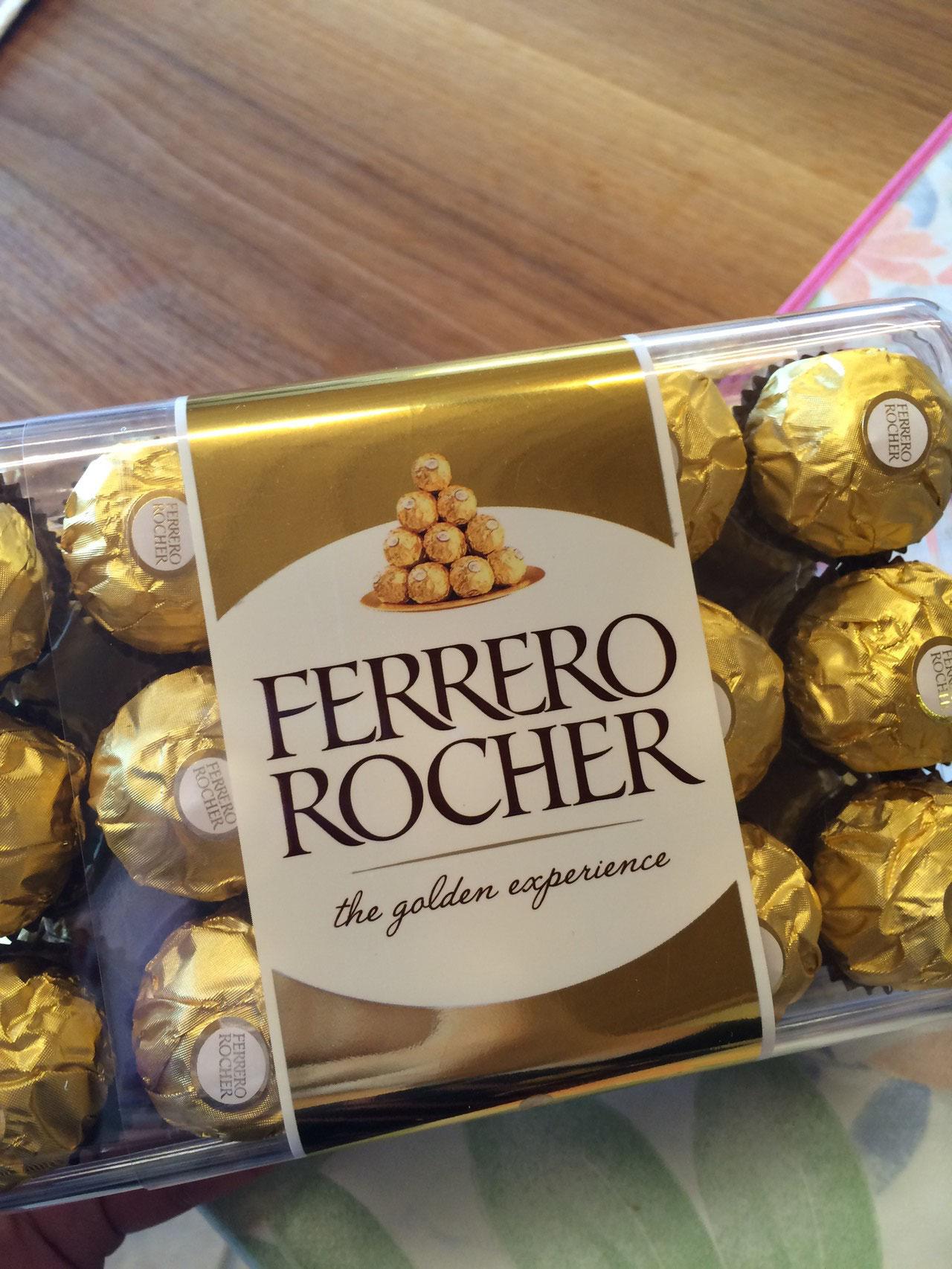 Ferrero Rocher...