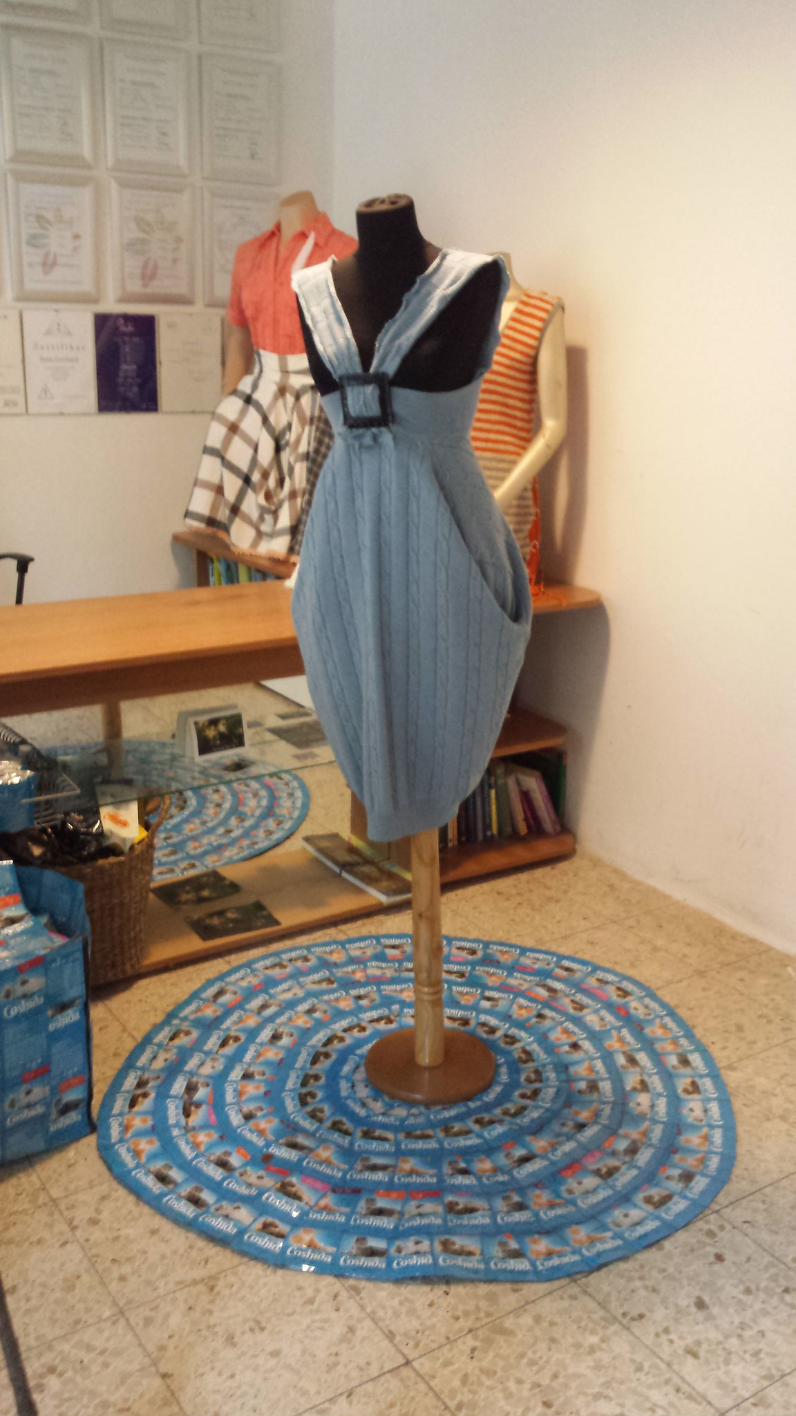 into the blue, designd and made by Beate Gernhardt