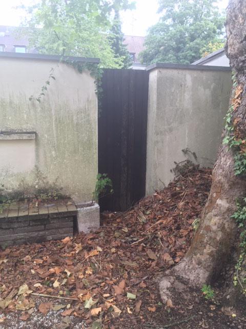 Bereich 2 (Terrasse) und 14 (Zugangssituation)