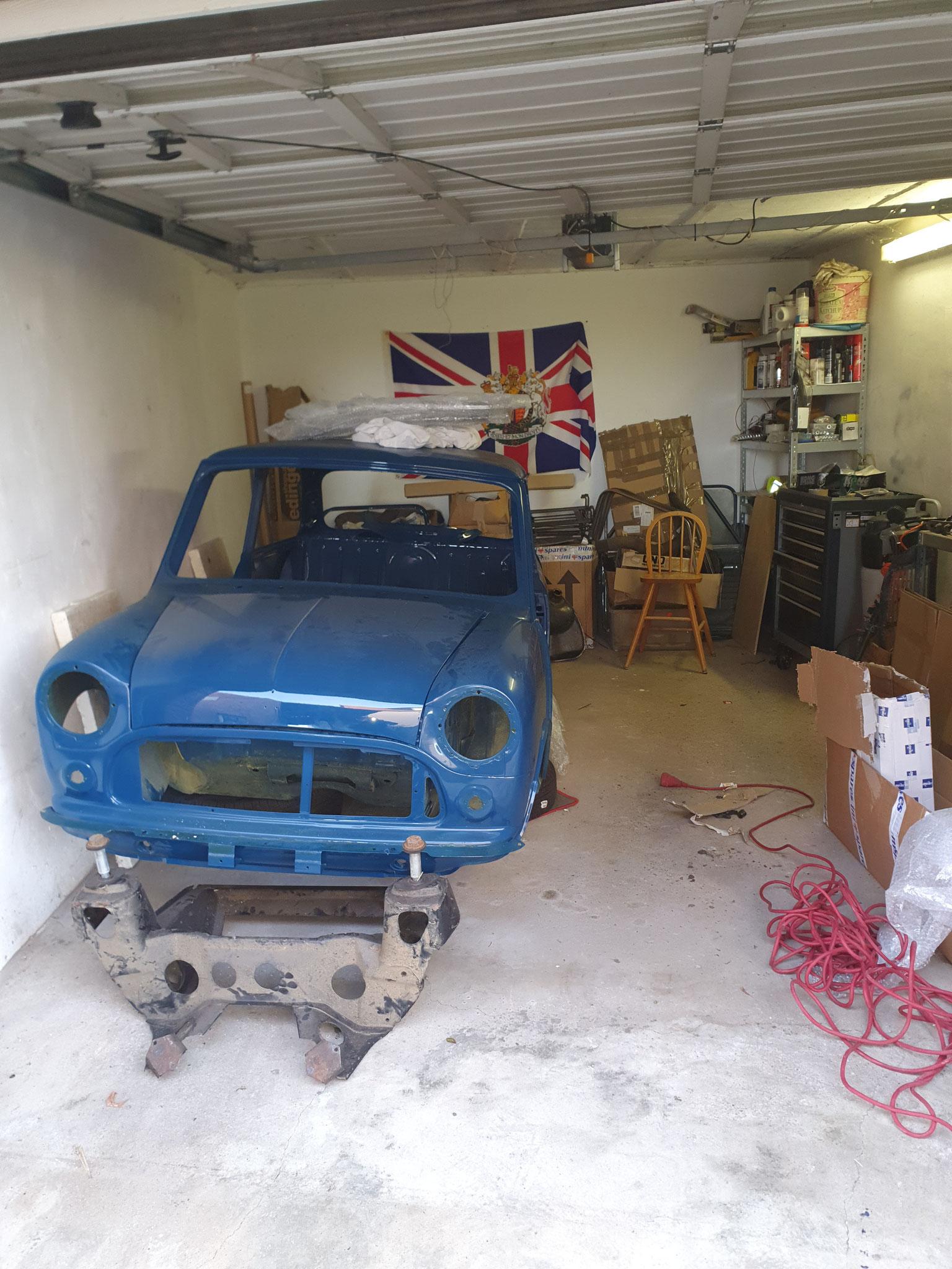 Klein und eher rudimentär, Garage und Mini