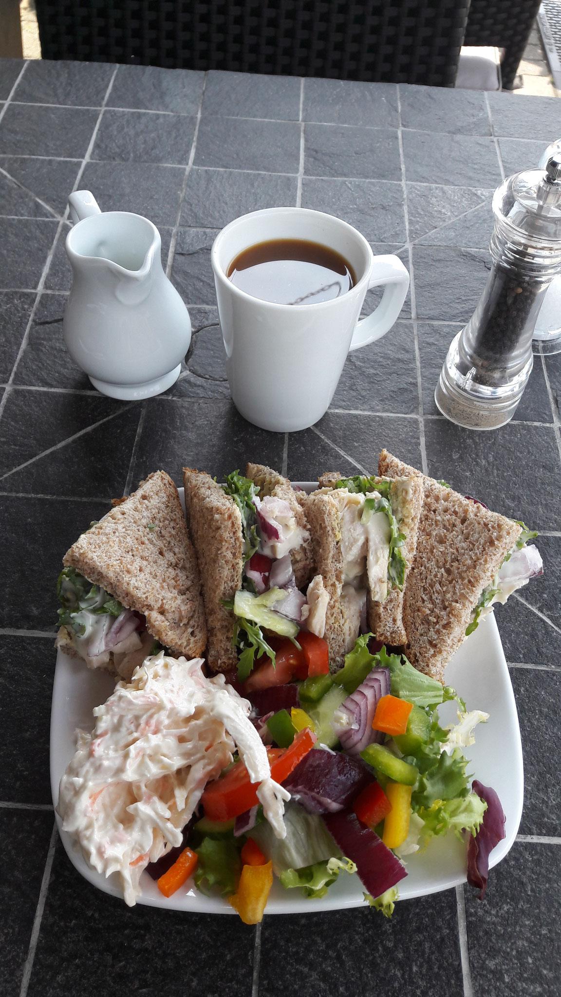Mein 1. englisches Sandwich