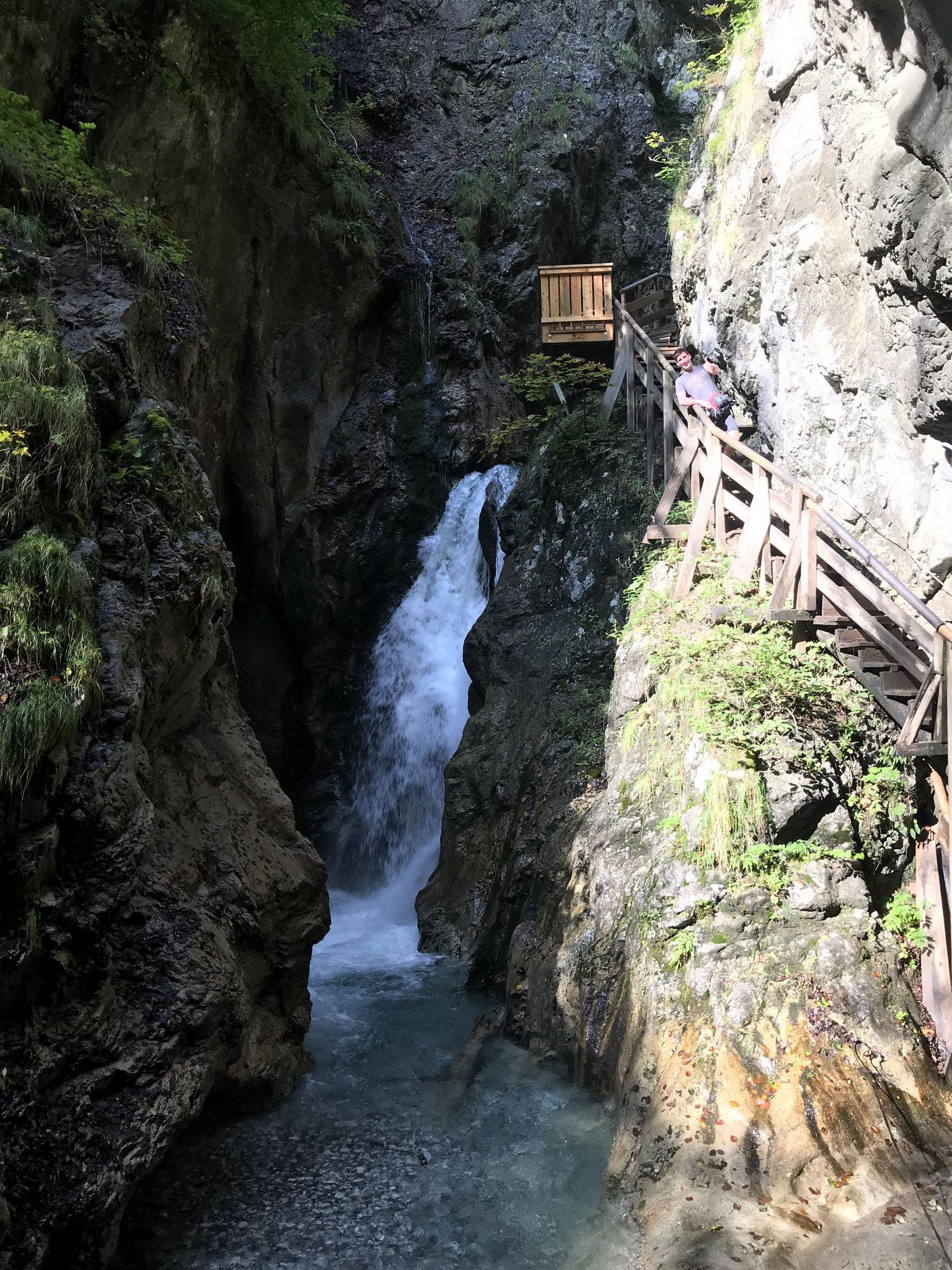 Reißender Wasserfall!