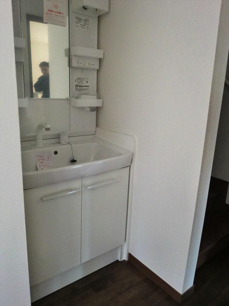 洗面台 -使いやすい位置に配置しました-