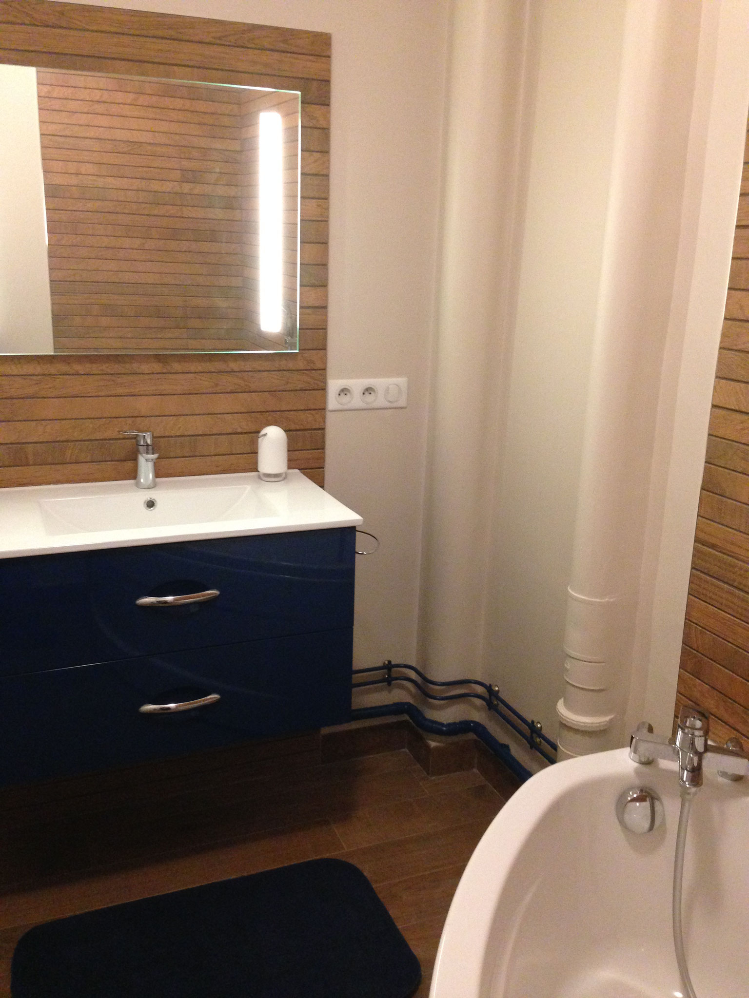 Le Chesnay – Réalisation  - Salle de bain...