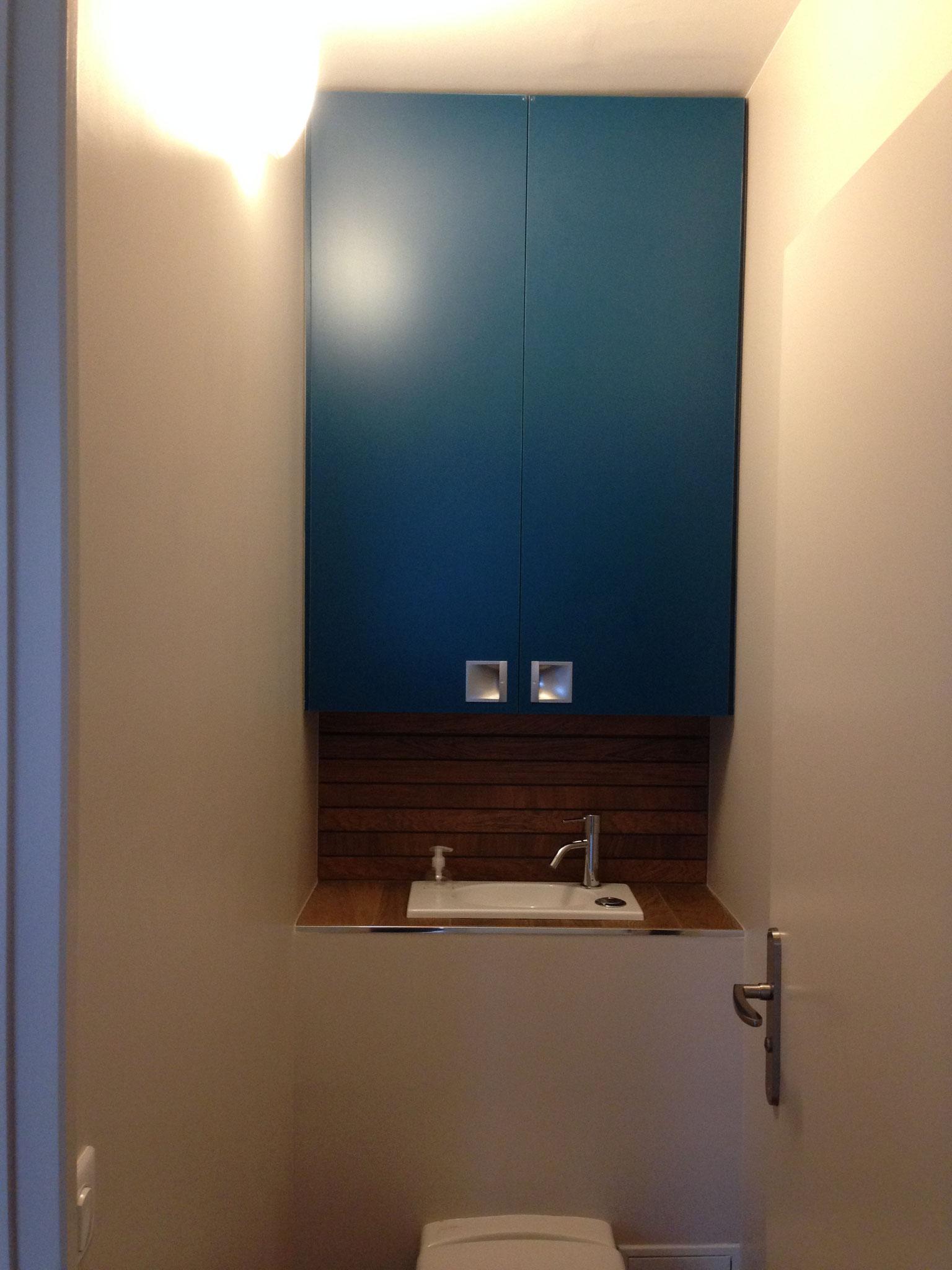 Le Chesnay – Réalisation  -...& toilettes coordonnées