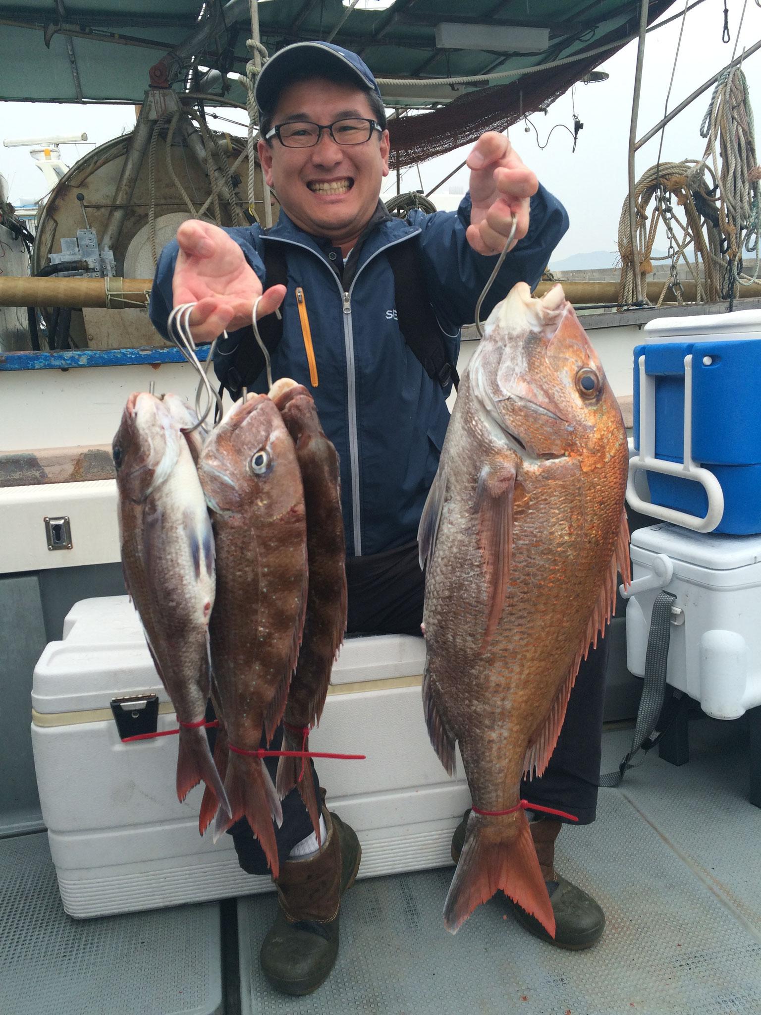 竿頭(^^)/ビッグ含む 5fish!
