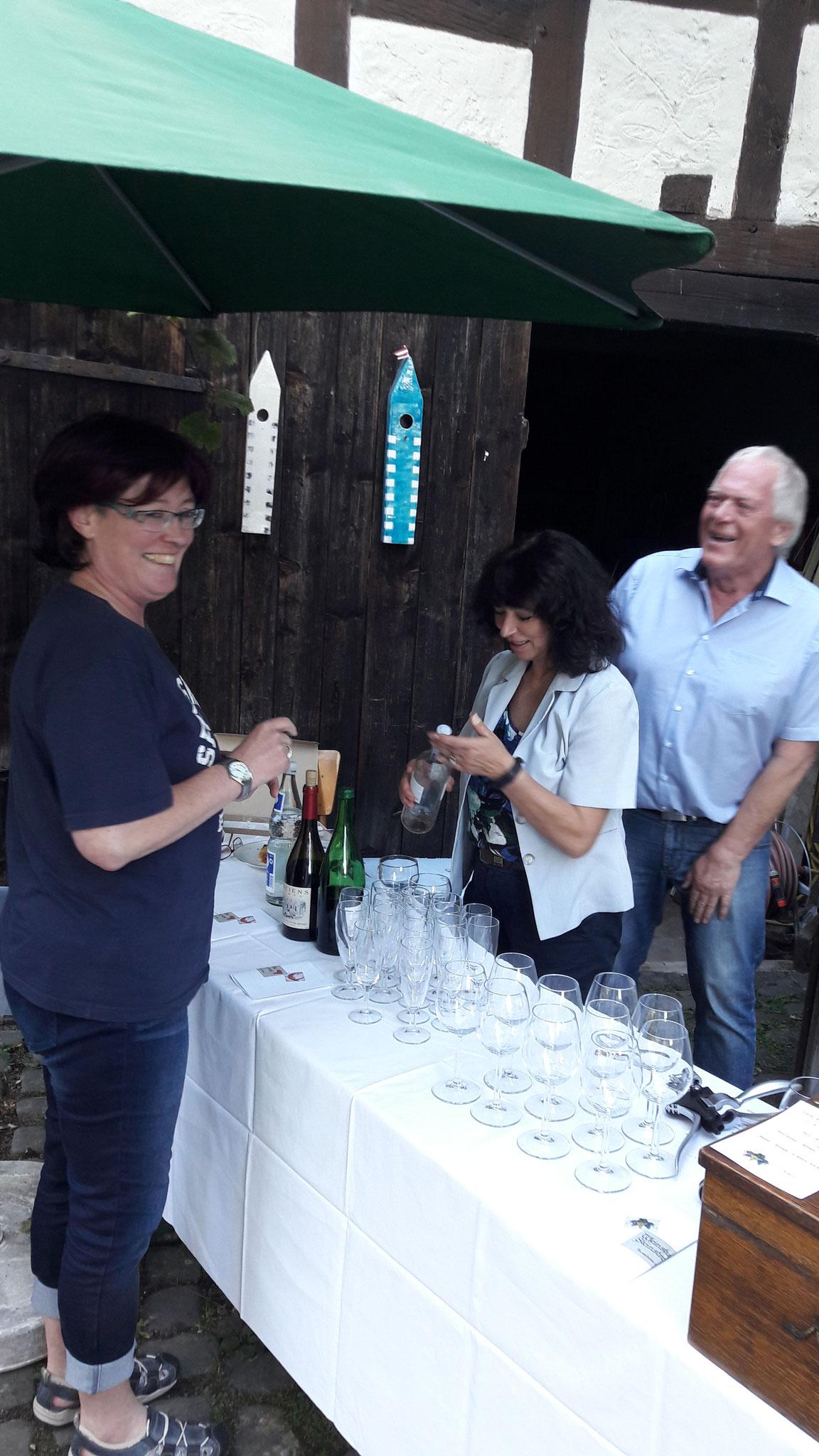 Wein-Lese mit Walter aus der Steinstraße