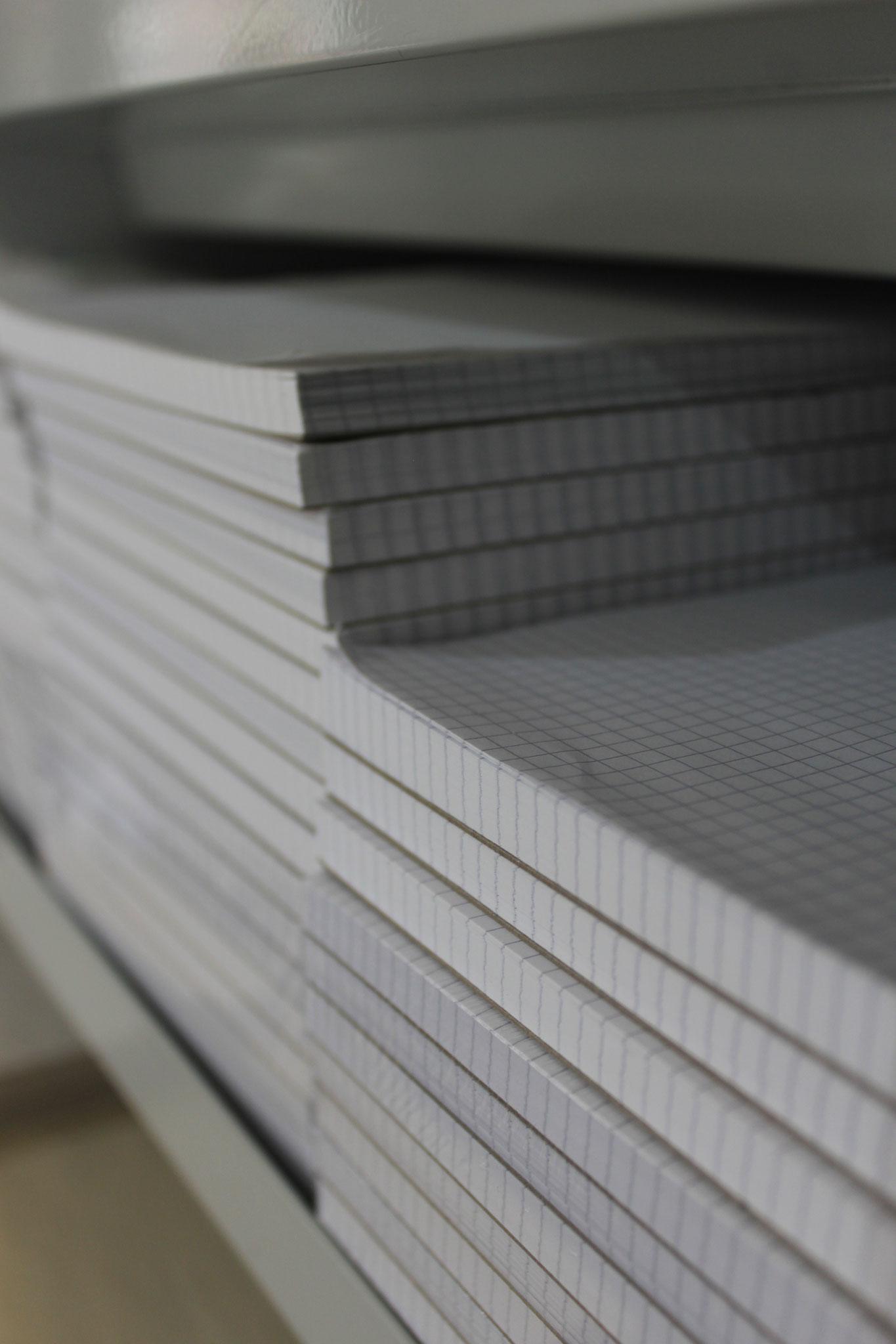 Schreib- und Notiz-Blöcke in allen Formaten