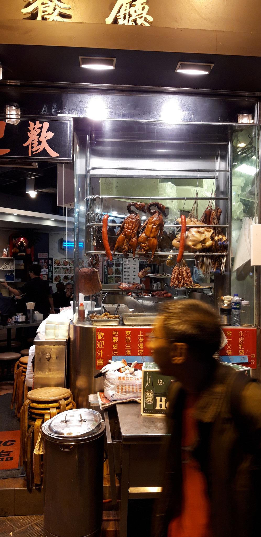 Essen in Wan Chai, da, wo die Einheimischen essen
