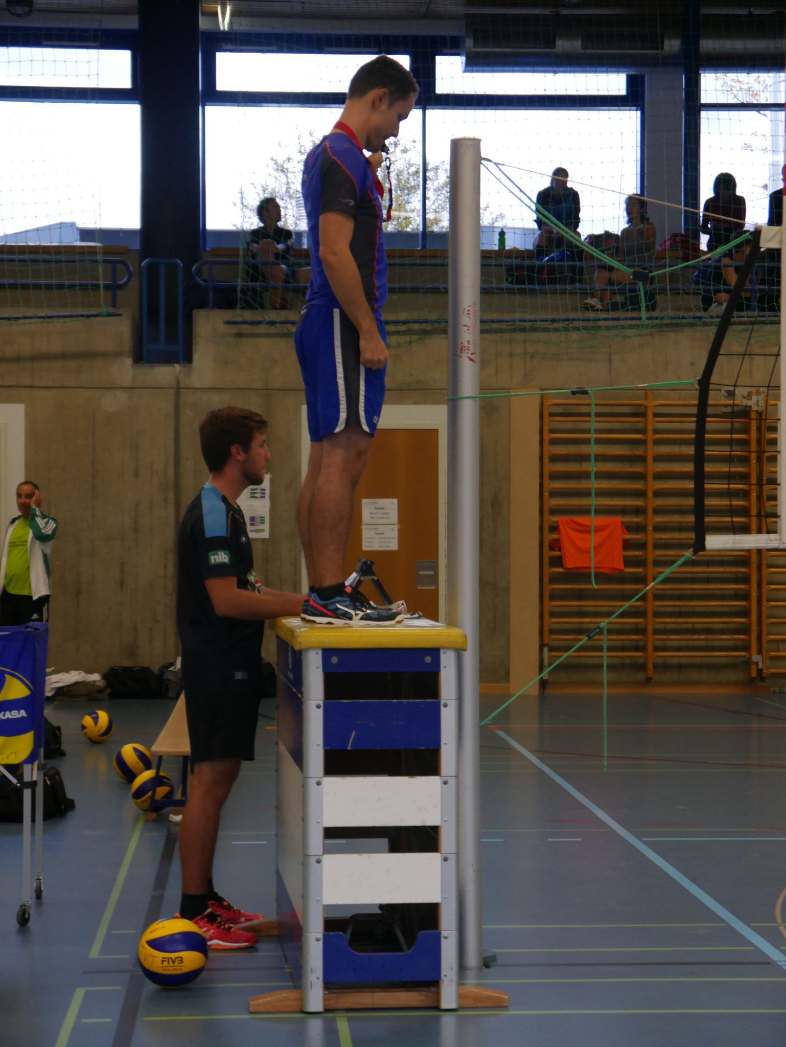 Auch die Spiele souverän pfeifen muss man am Volley-Open Thalwil.