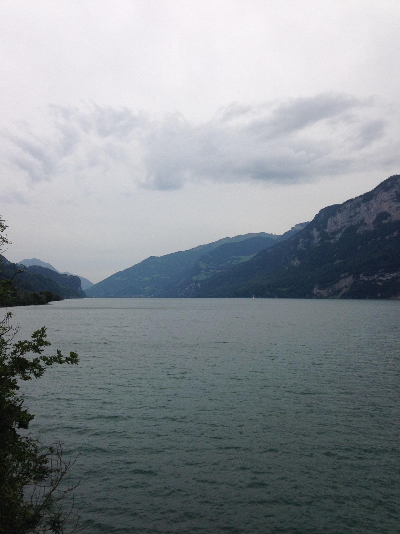 Walensee, zurück nach Gommiswald