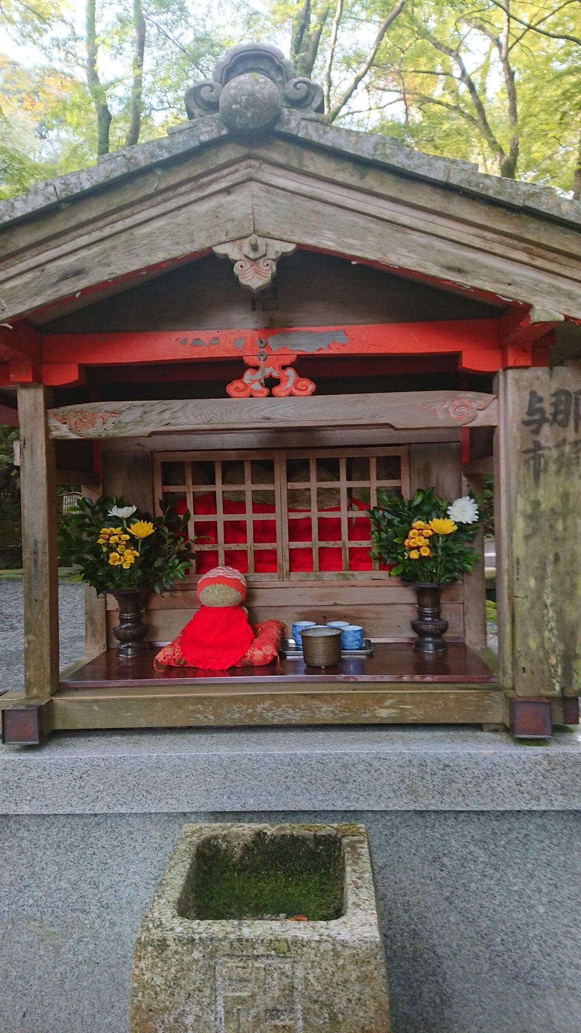 那須与一地蔵 『平家物語』扇の的を射抜く話で有名な那須の与一
