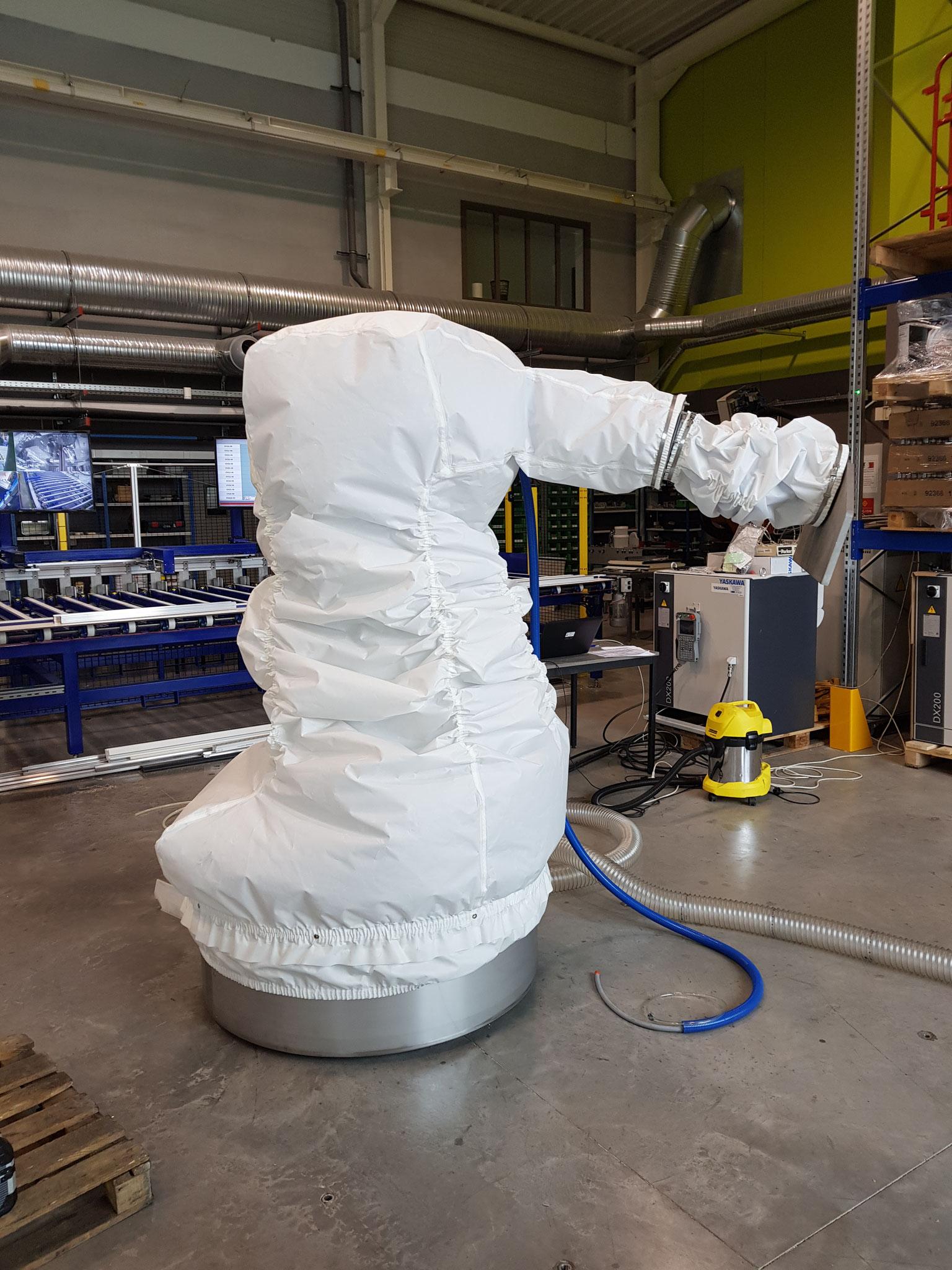 Housse de protection pour robots industriels HDPR