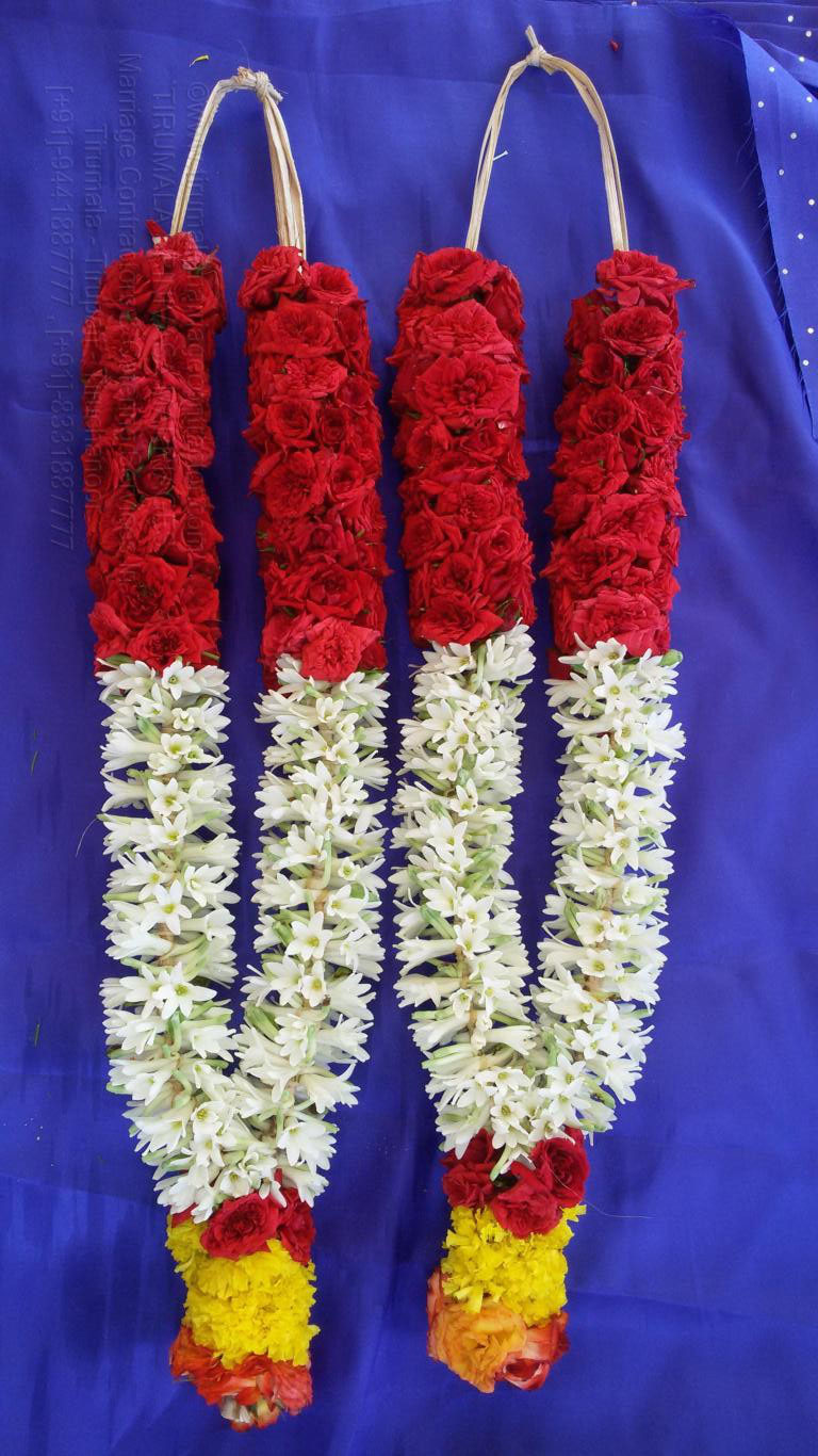 tirumala marriage contractor - garlands 03