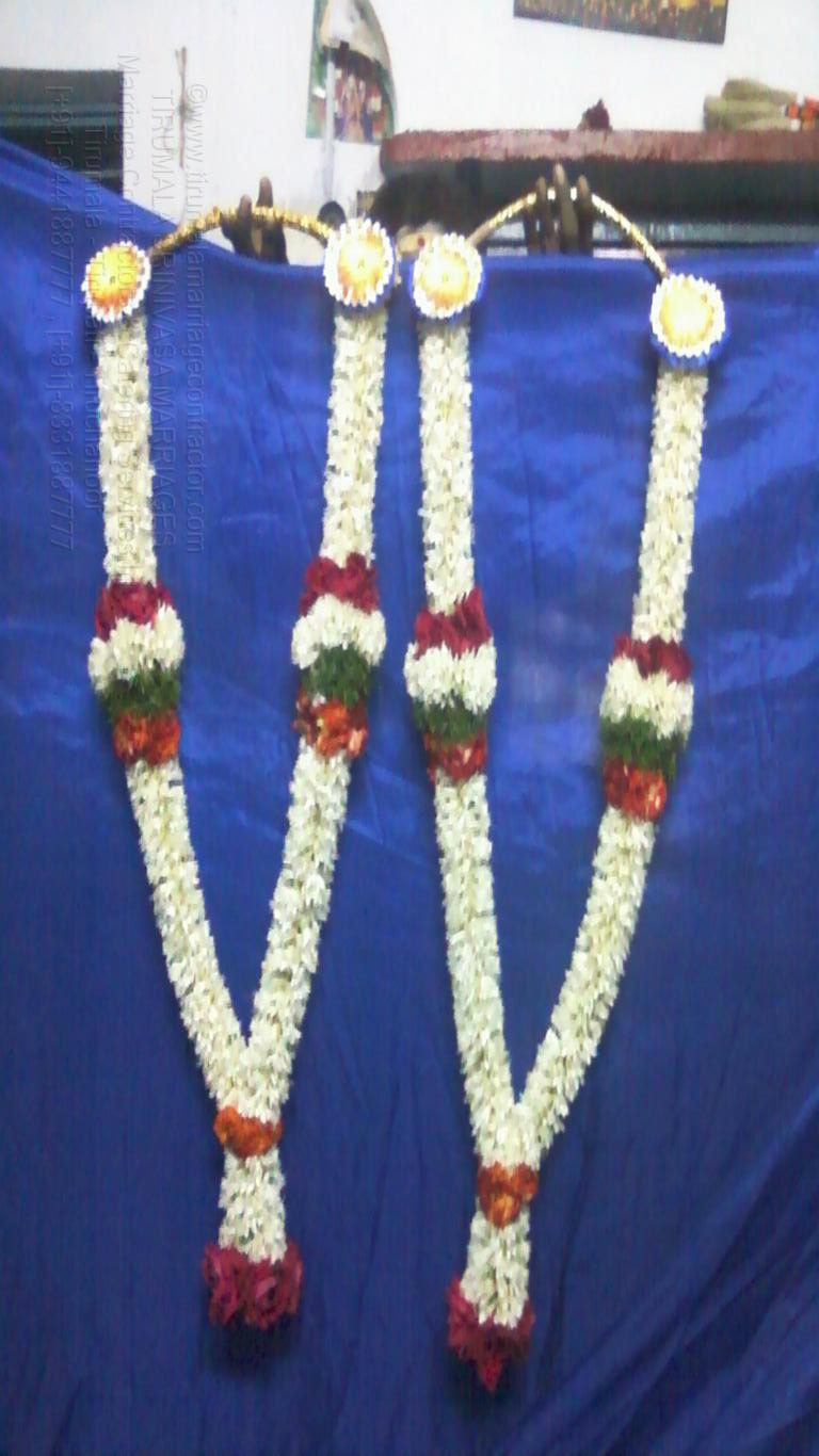 tirumala marriage contractor - garlands 13