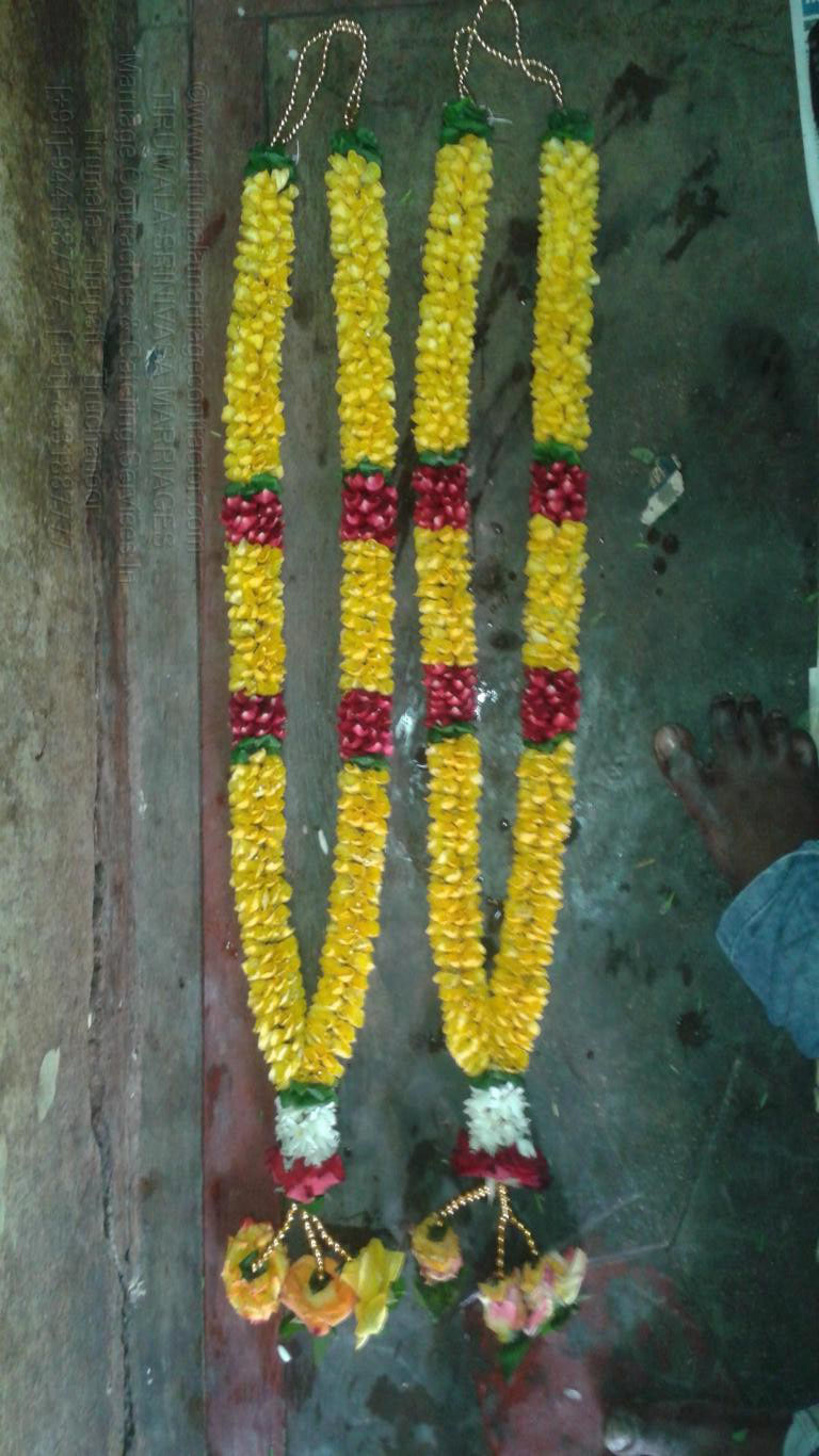 tirumala marriage contractor - garlands 25
