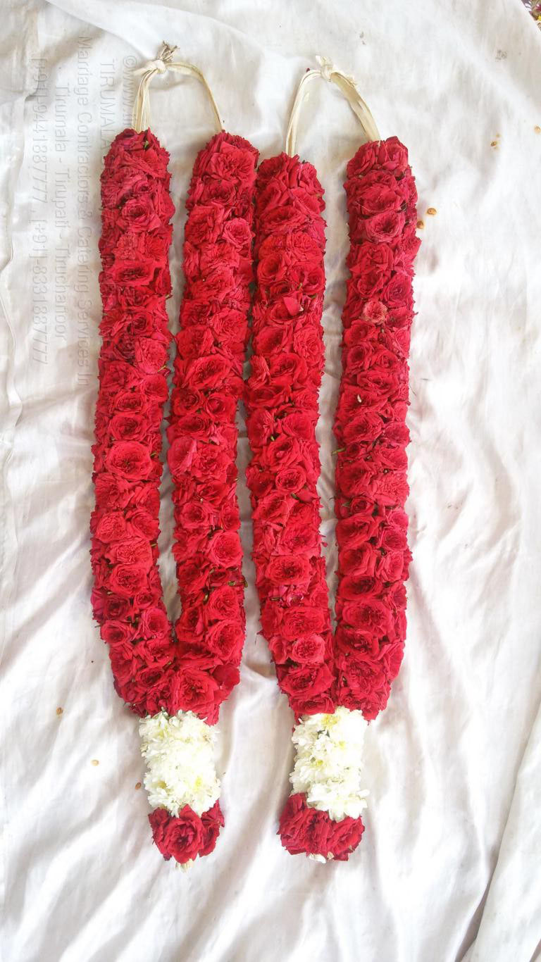 tirumala marriage contractor - garlands 05