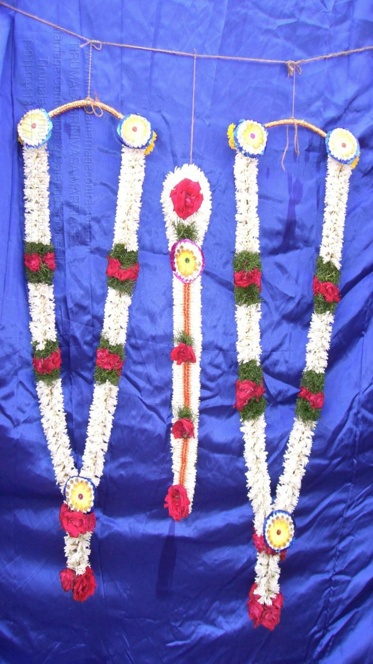 tirumala marriage contractor - garlands 12