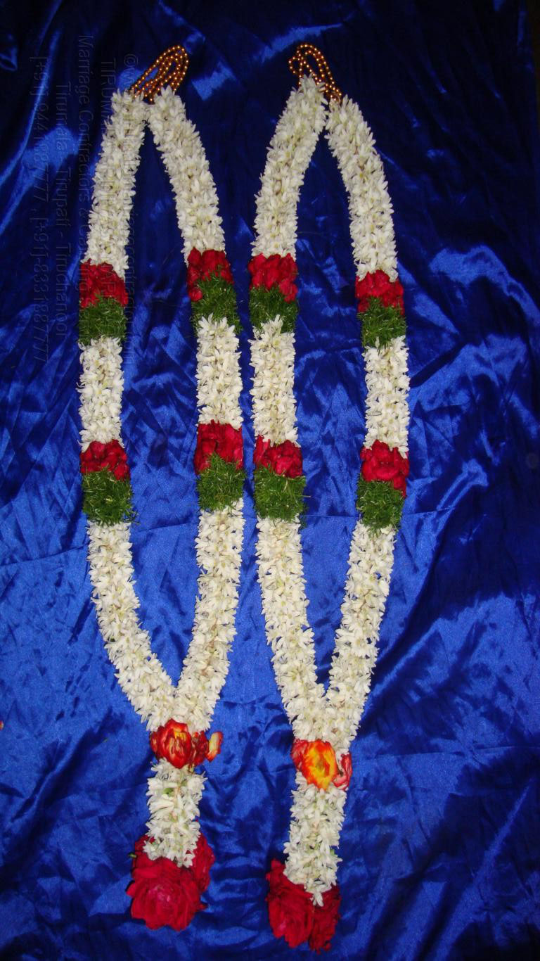 tirumala marriage contractor - garlands 09