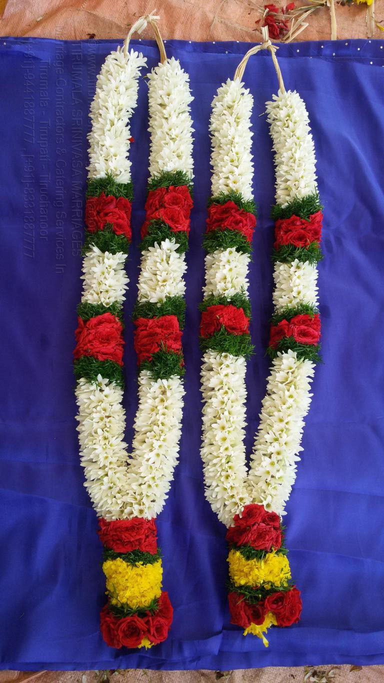 tirumala marriage contractor - garlands 06